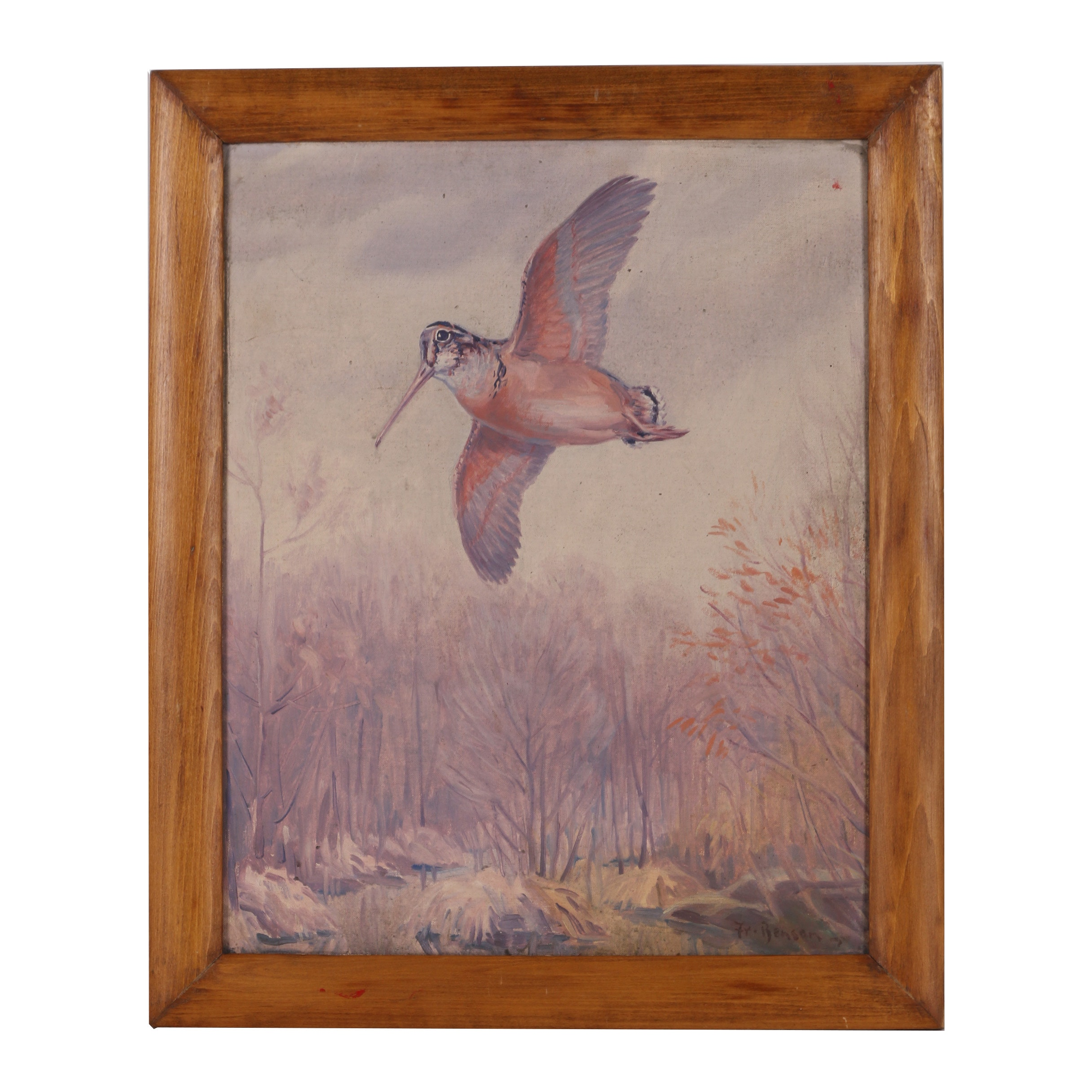 Oil Painting in the Manner of Frank Weston Benson