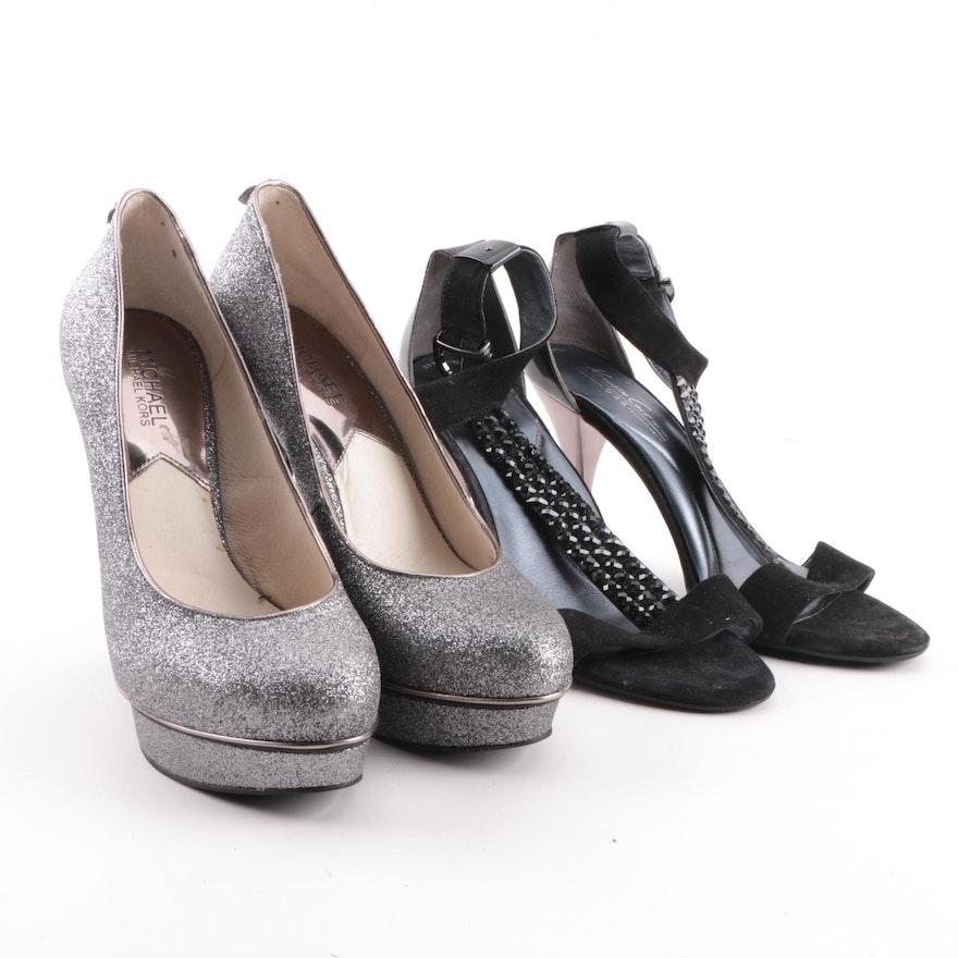3ac25e29a83 Women s MICHAEL Michael Kors and Kenneth Cole High-Heeled Shoes   EBTH
