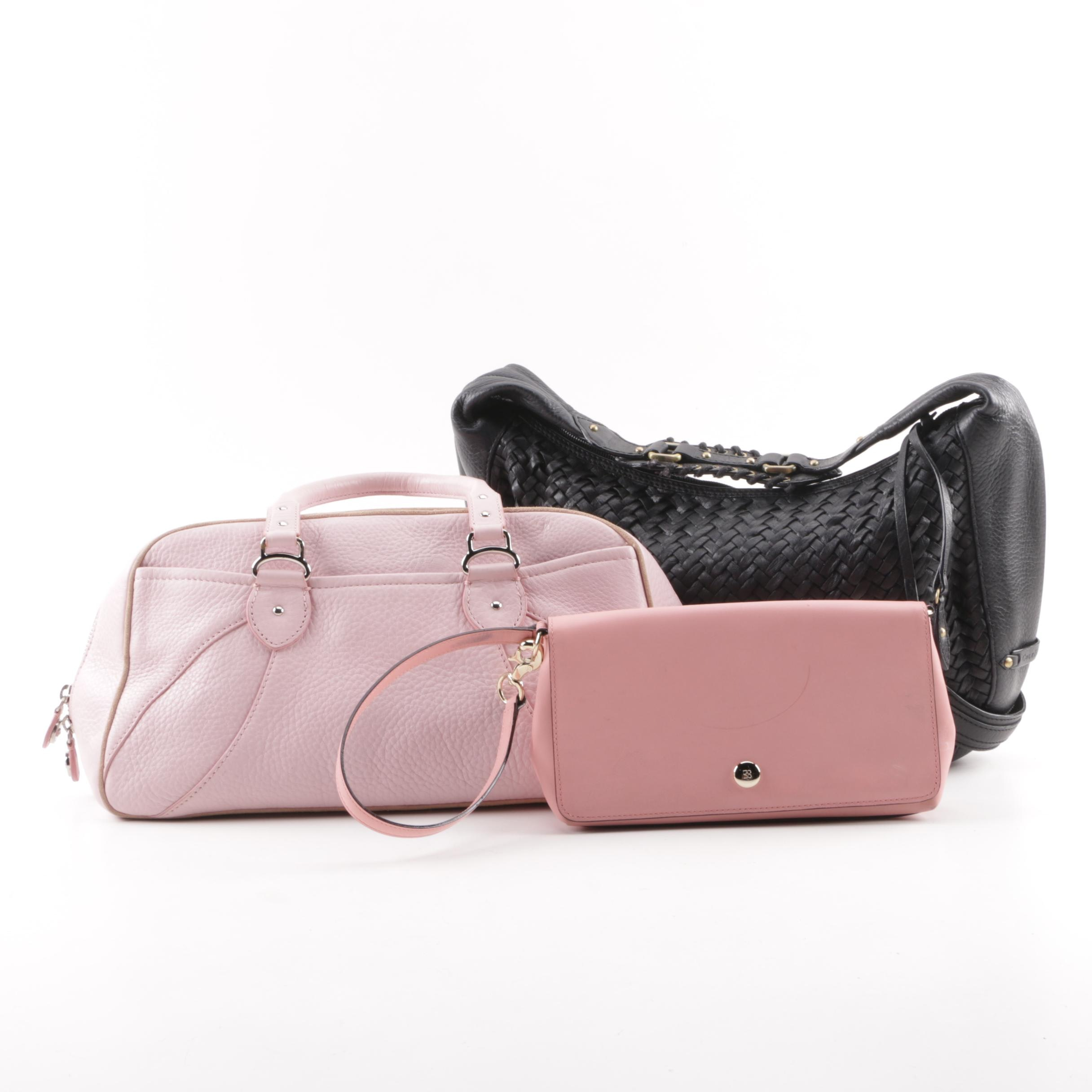 Women's Handbags Including Kate Spade Wristlet and Cole Haan Handbags