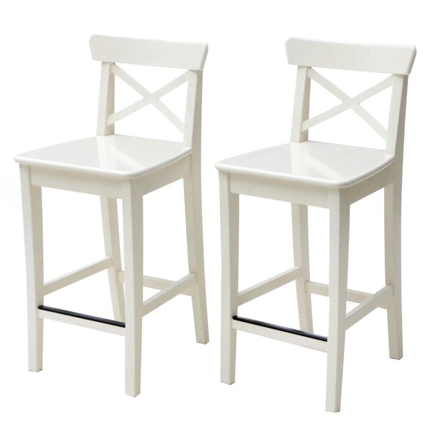 Prime Ikea Ingolf Barstools Andrewgaddart Wooden Chair Designs For Living Room Andrewgaddartcom