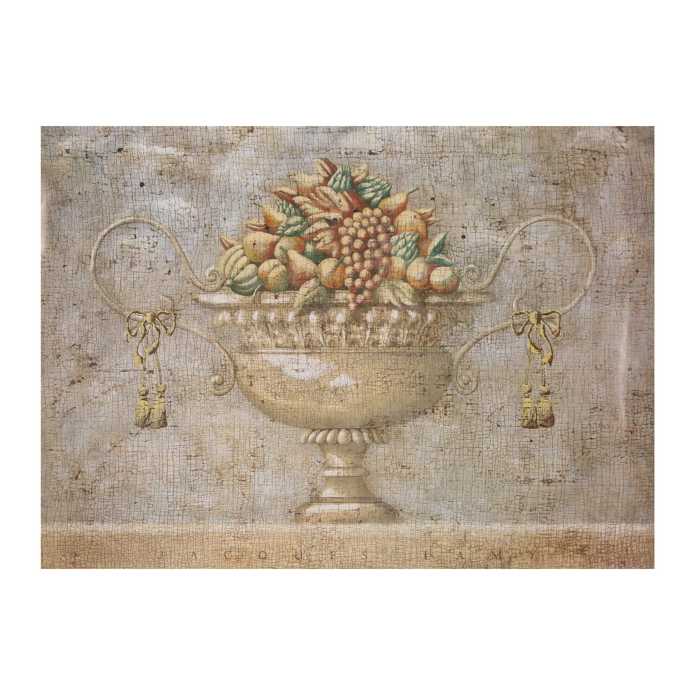 """Offset Lithograph Poster After Jacques Lamy """"Verona with Fruit"""""""