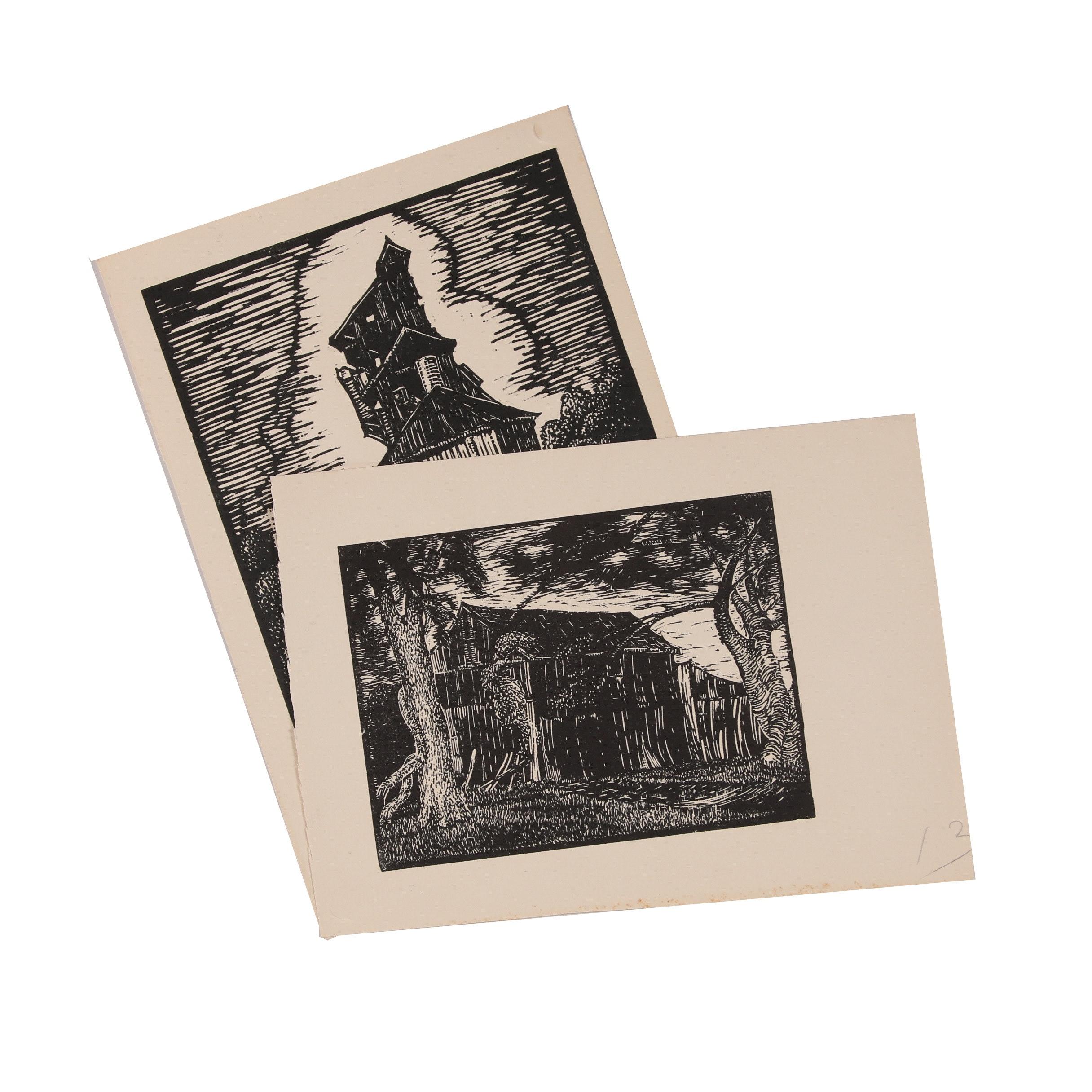 Robert Whitmore Woodcuts