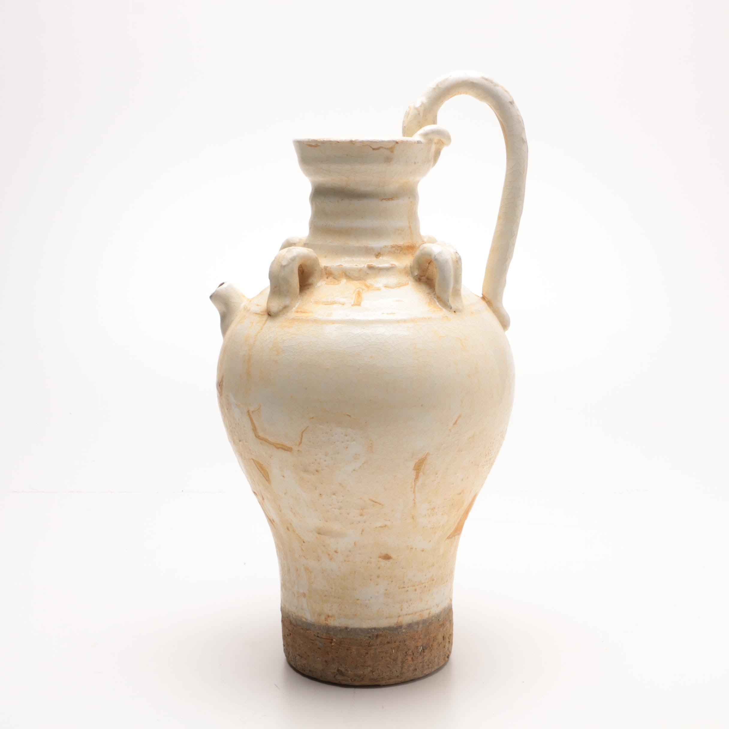 Chinese Water Vessel with Handle
