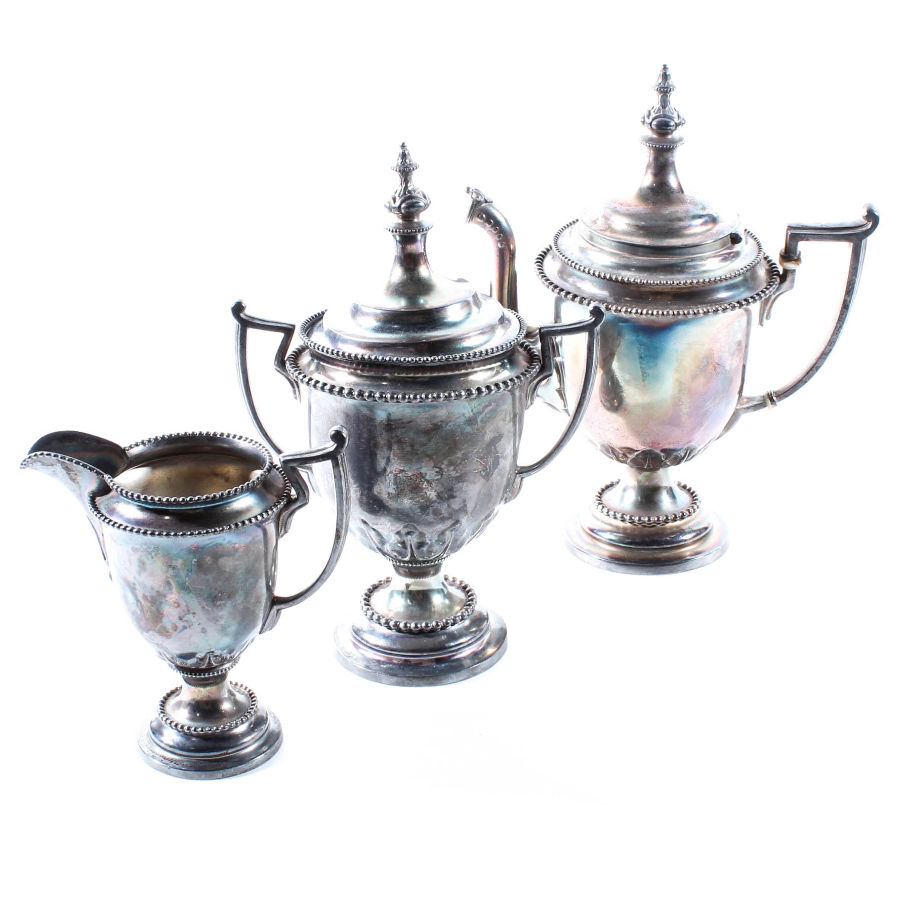 Reed & Barton Silver Plate Tea Service