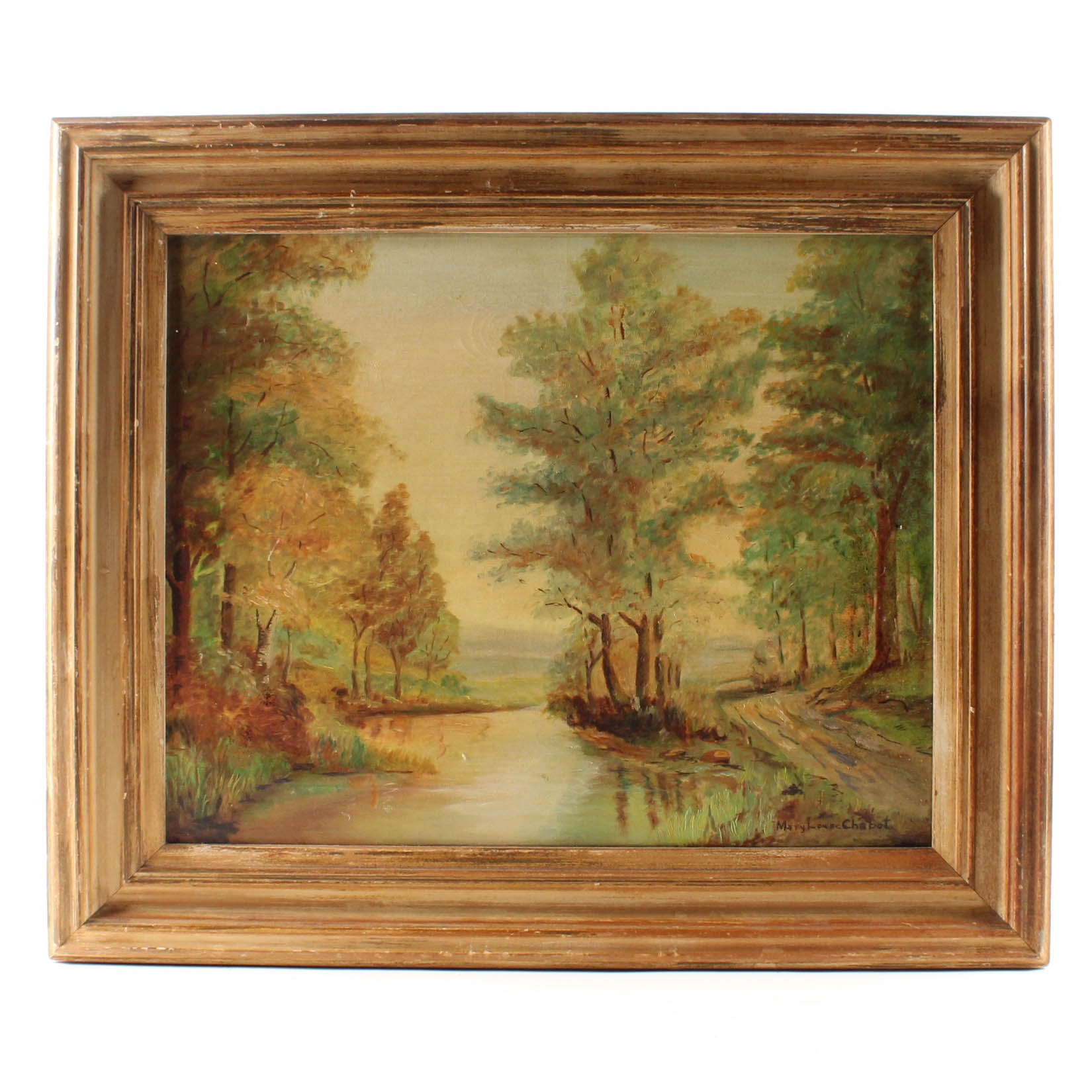 Mary Louise Chabot Oil Painting
