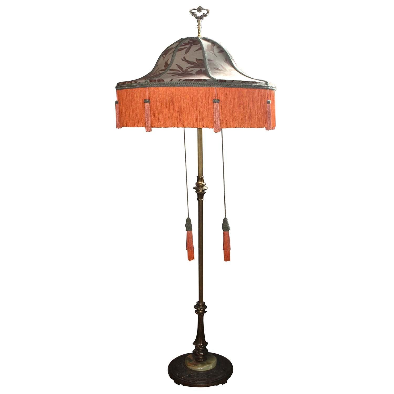 Vintage Fringe Floor Lamp
