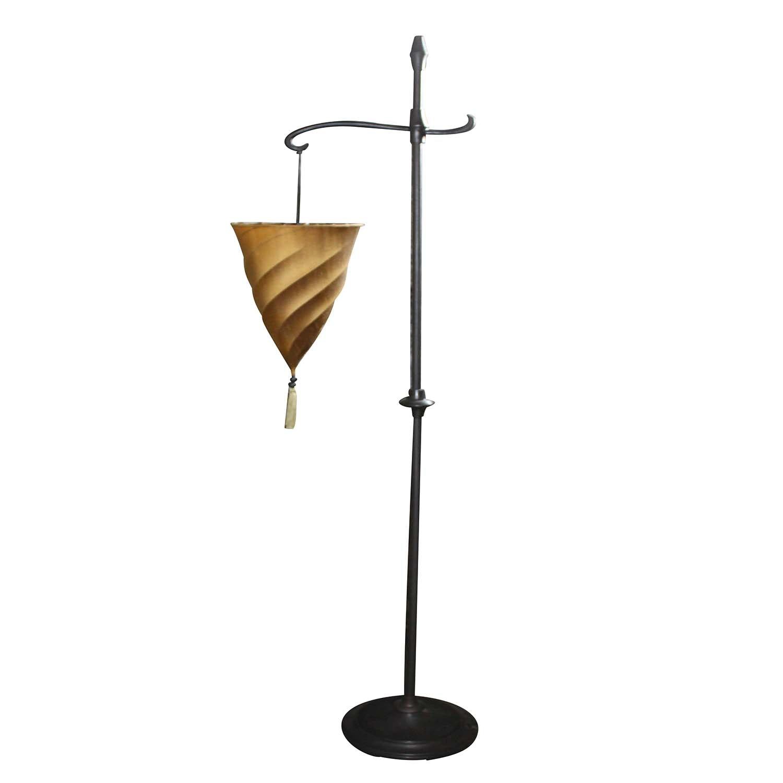 Vintage Hanging Dimmer Floor Lamp