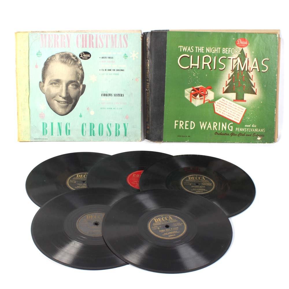 Assorment of Vintage 78 rpm Records