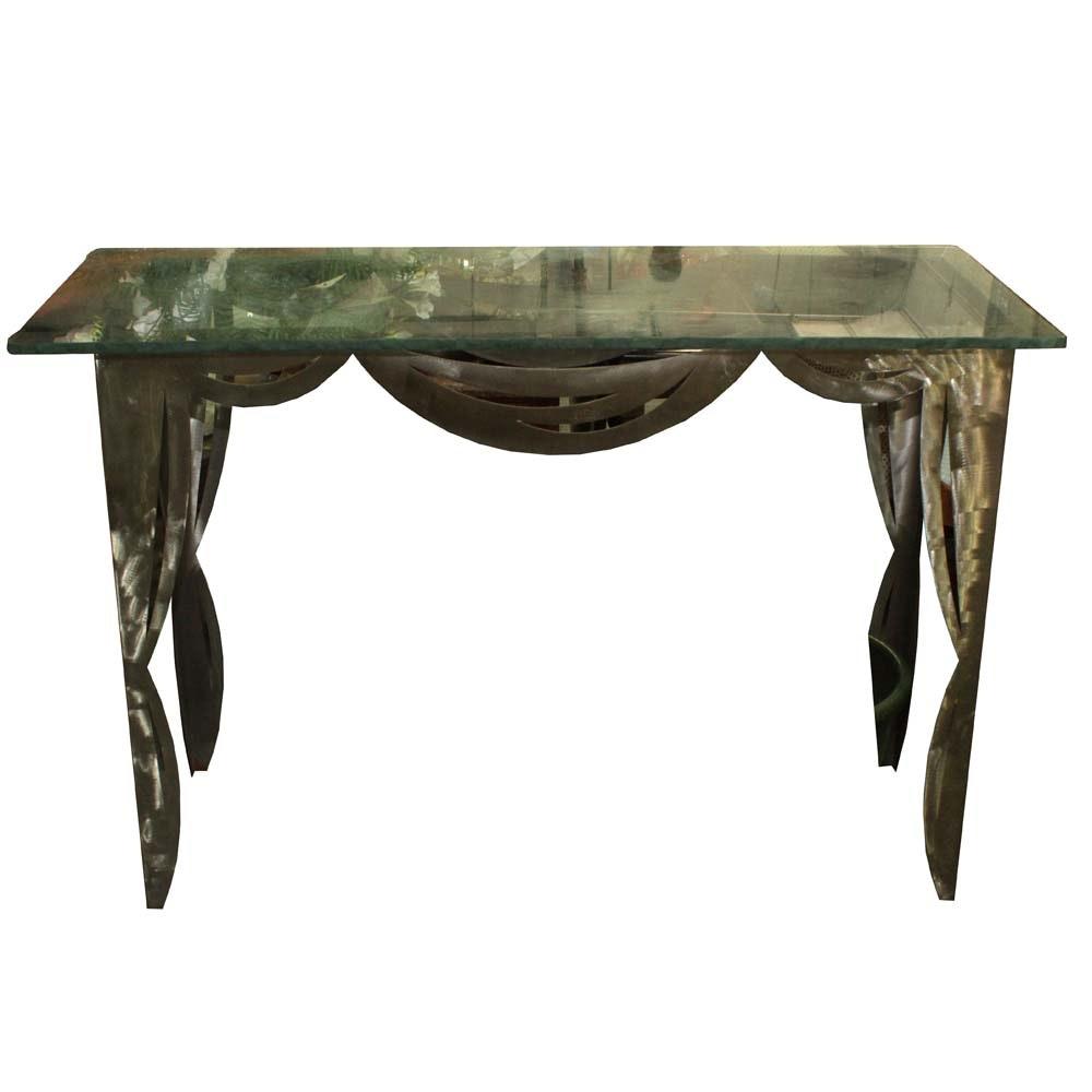 Art Deco Revival Console Table