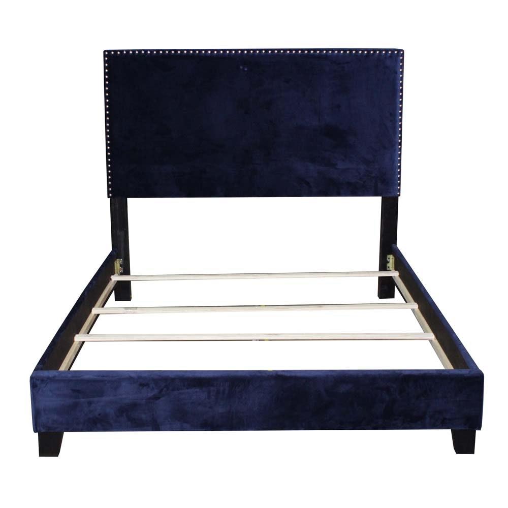 Velveteen Queen Size Bed