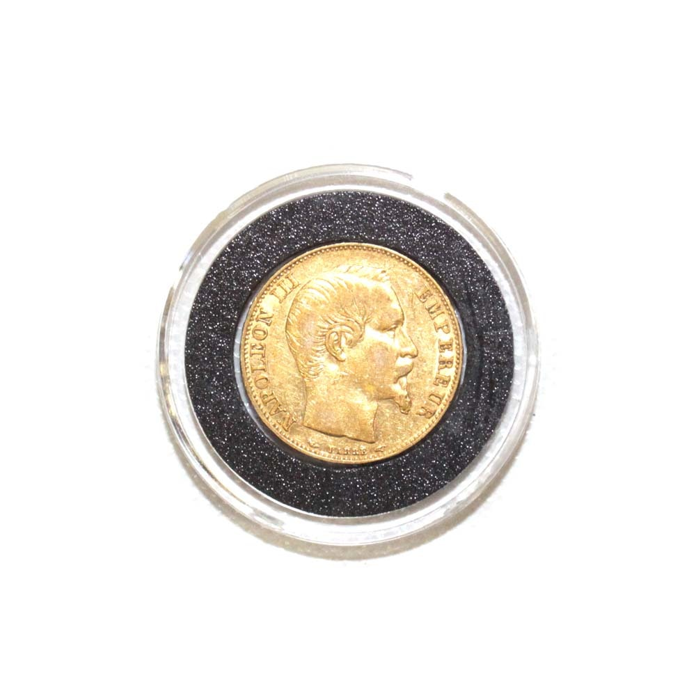 1854-A France 20 Francs Gold Coin
