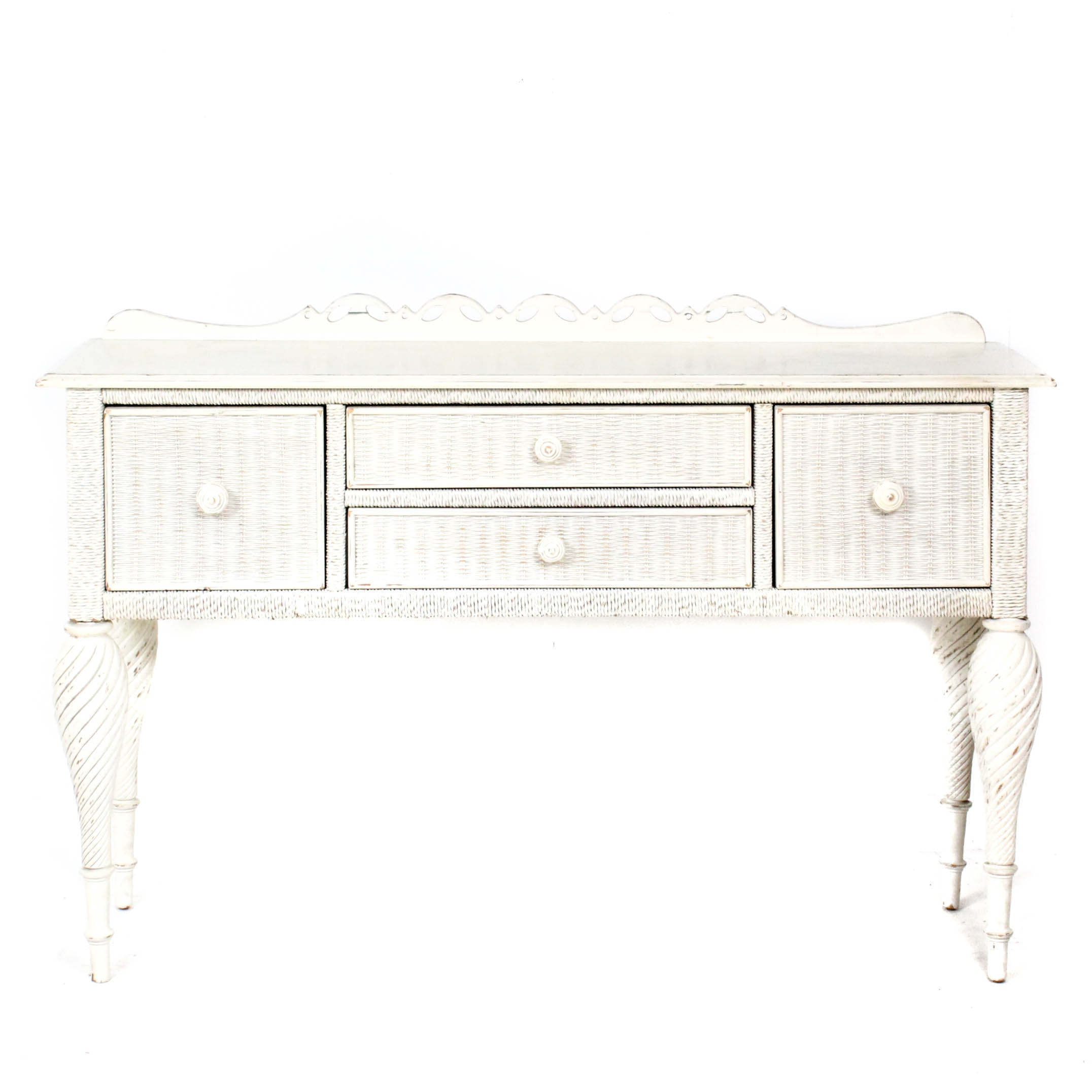 Lexington Furniture White Wicker Sideboard