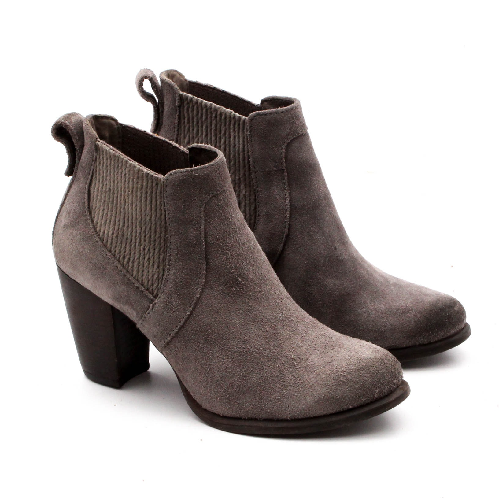 Women's UGG Cobie II Grey Suede Ankle Boots