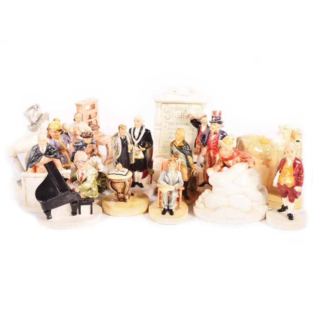 Sebastion Hand-Painted Miniature Figurines Featuring Ltd. Editions