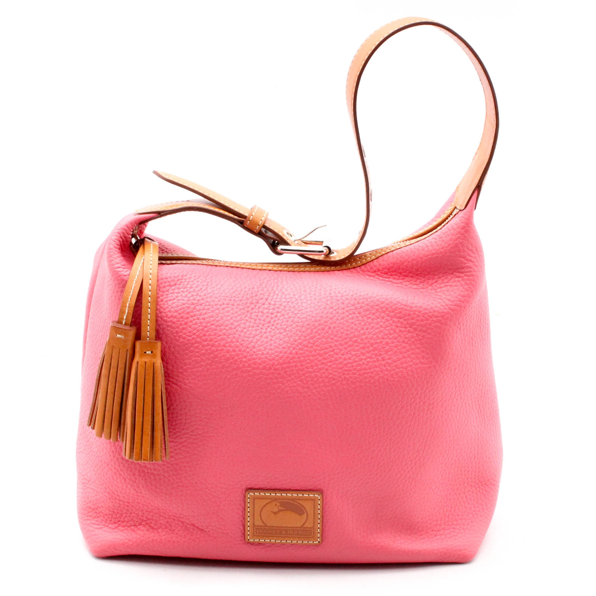 Dooney & Bourke Paige Sac Pebbled Leather Bucket Bag