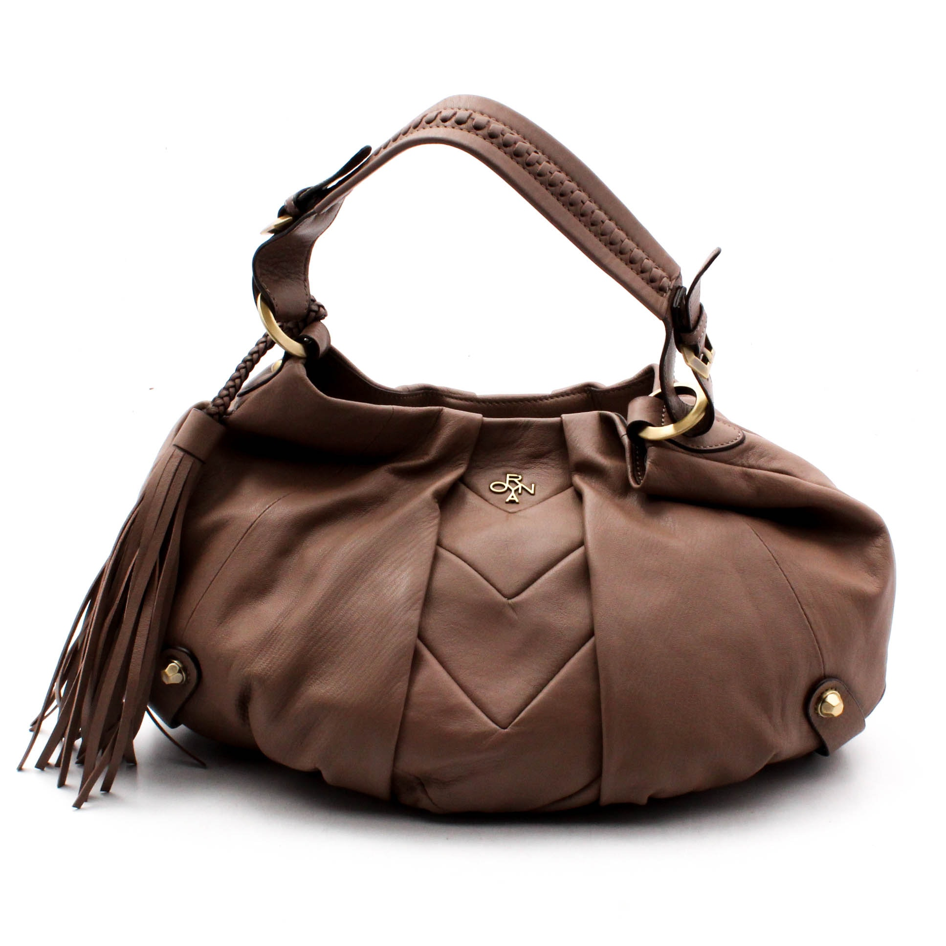 orYANY Leather Hobo Handbag