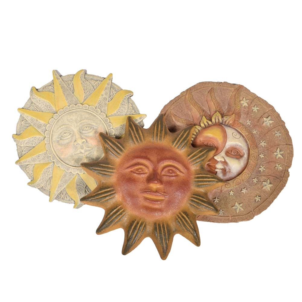 Sun Wall Plaques