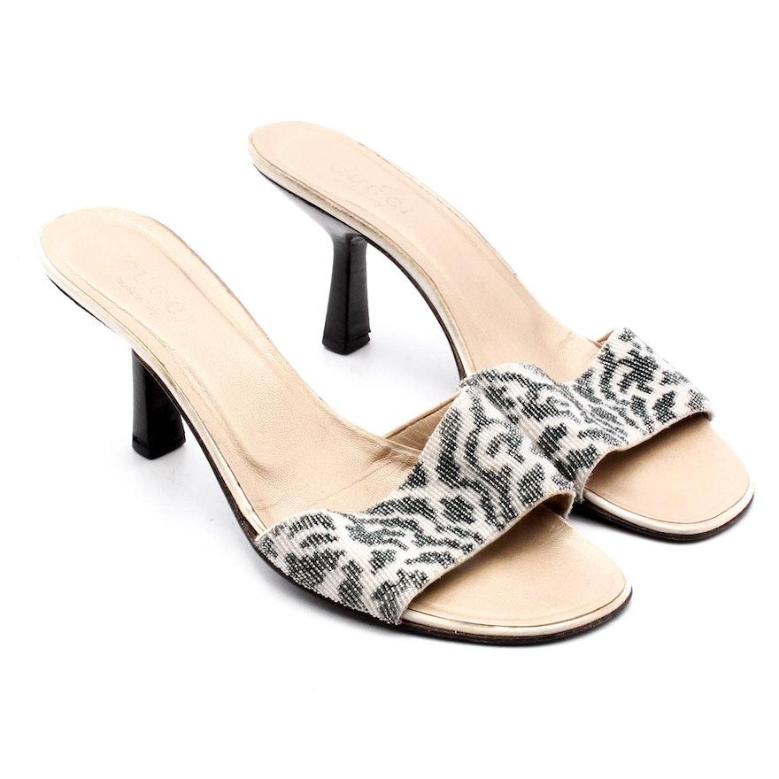 264dd1135f1 Women s Gucci Beaded Slide Sandals   EBTH