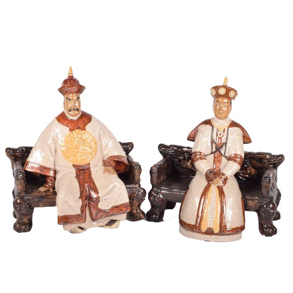 Terracotta Chinese Emperor Figurines