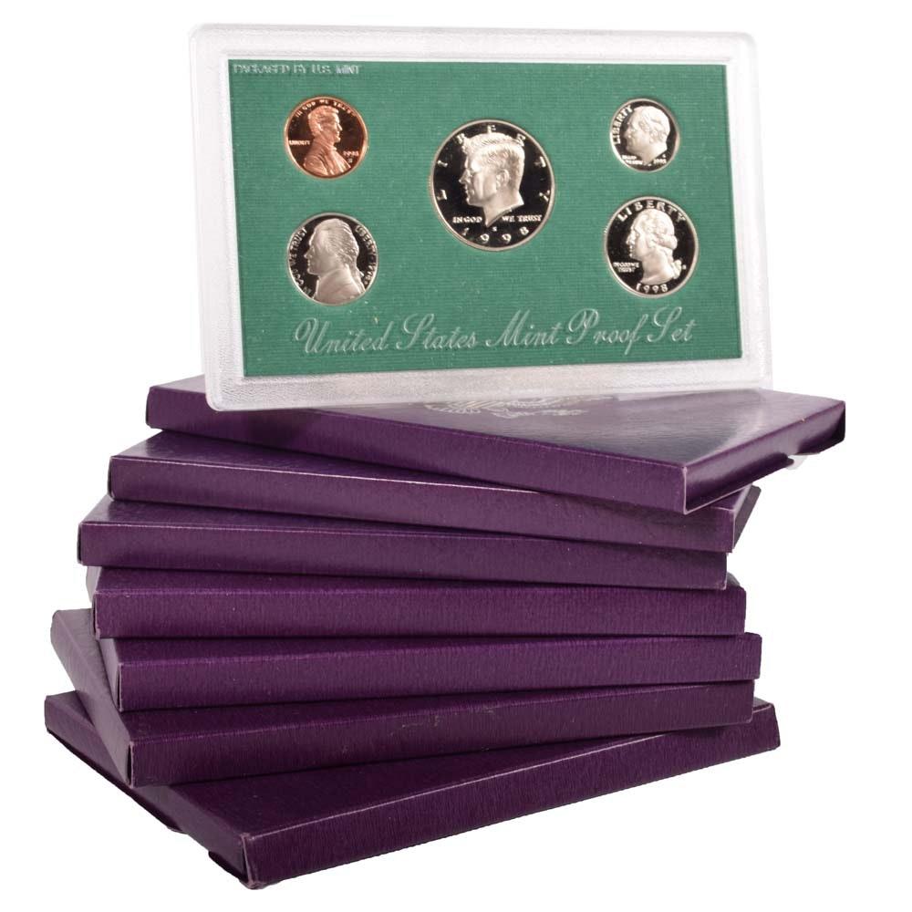 1991, 1992, 1993 US Mint Proof Sets