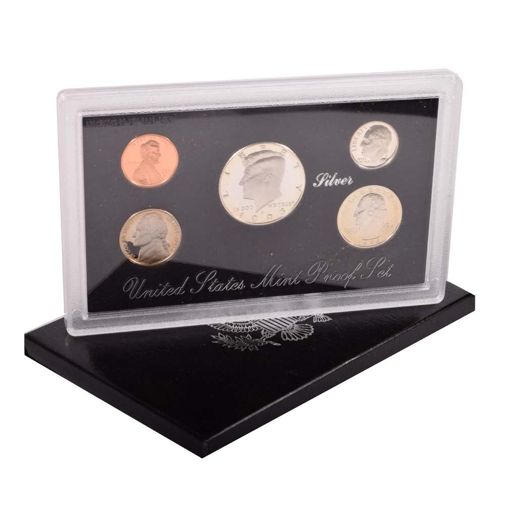 1993 US Mint Silver Proof Set