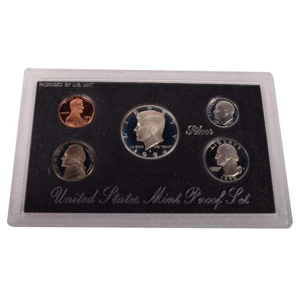 1994 US Mint Silver Proof Set