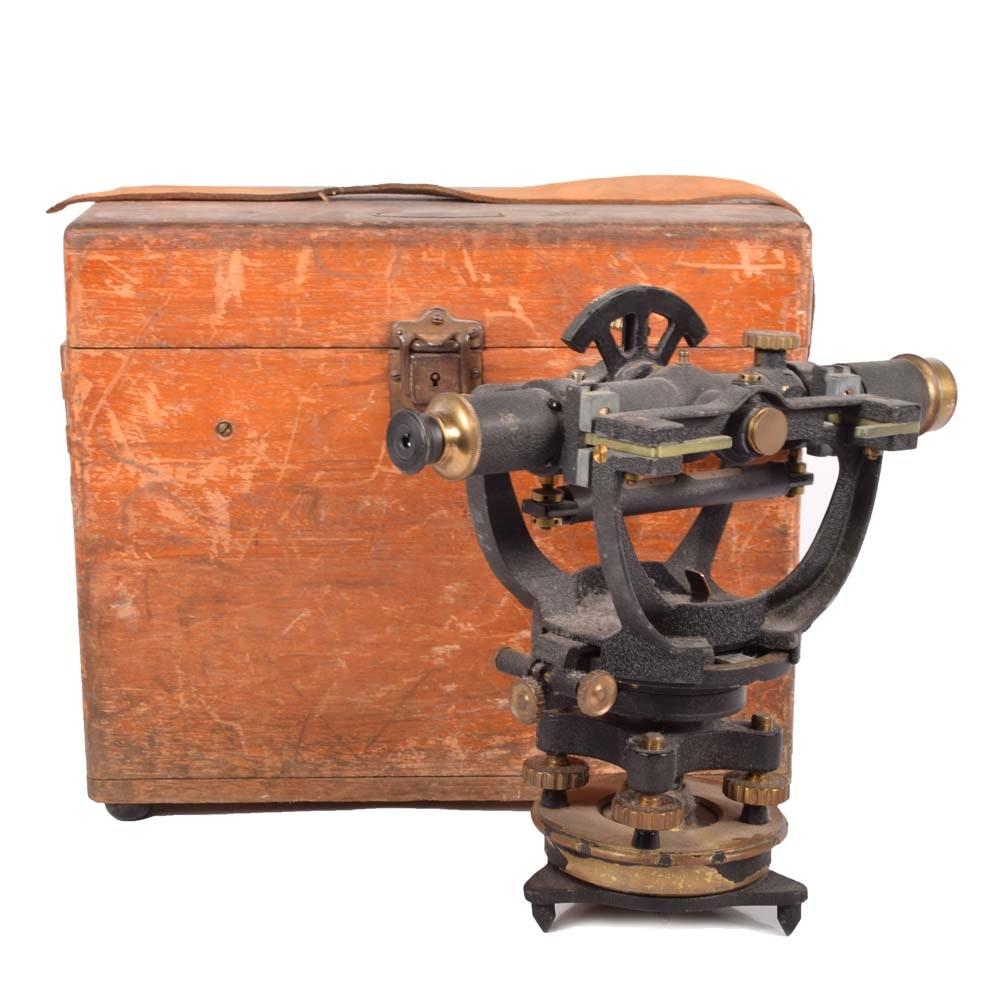 Vintage David White Co. Survey Instrument
