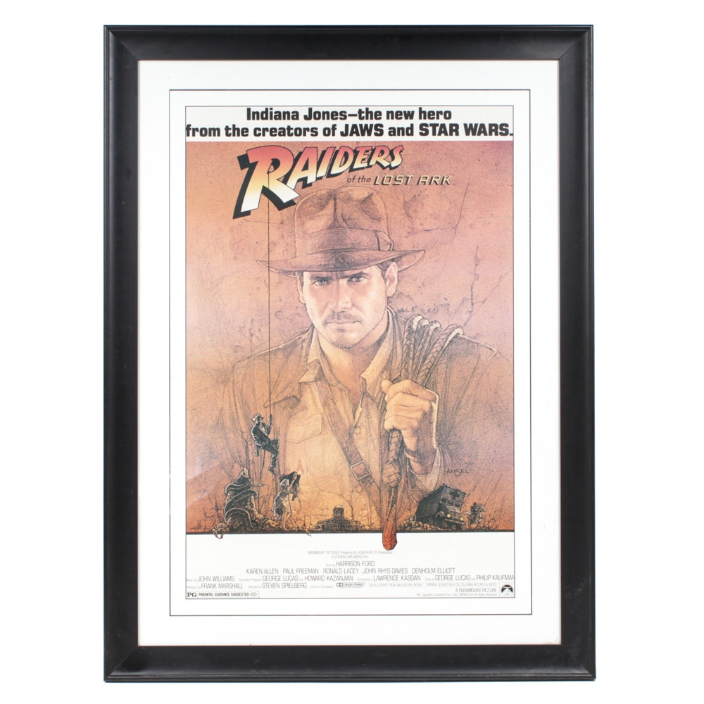 Indiana Jones Raiders of the Lost Ark Film Poster