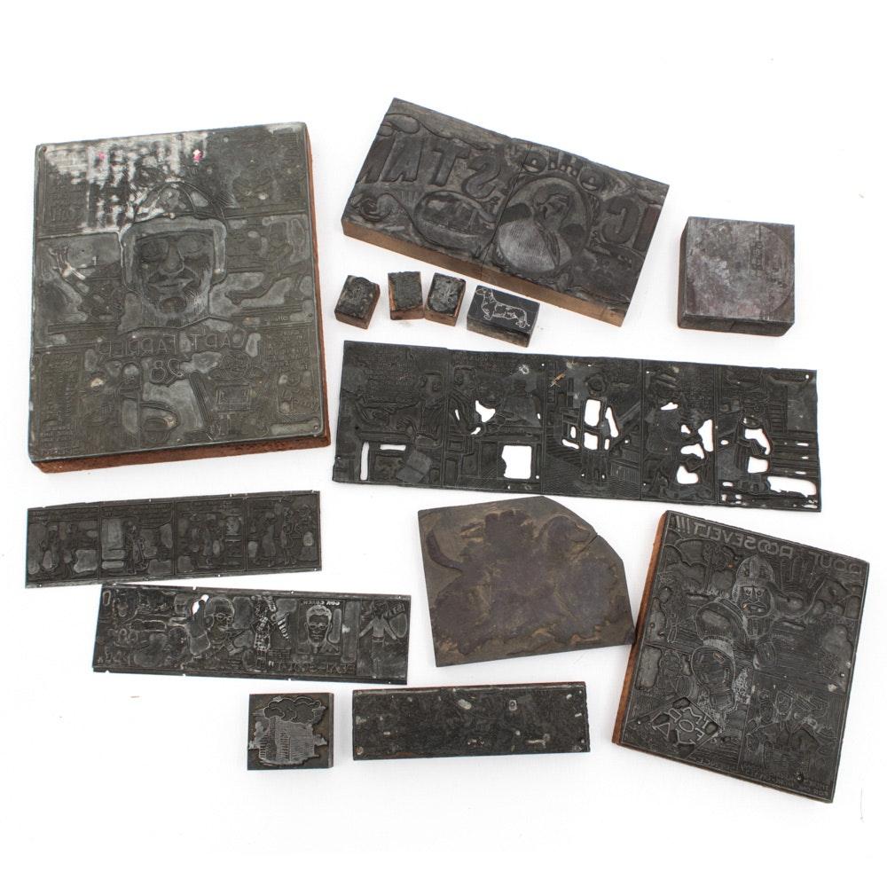 Metal Printing Blocks