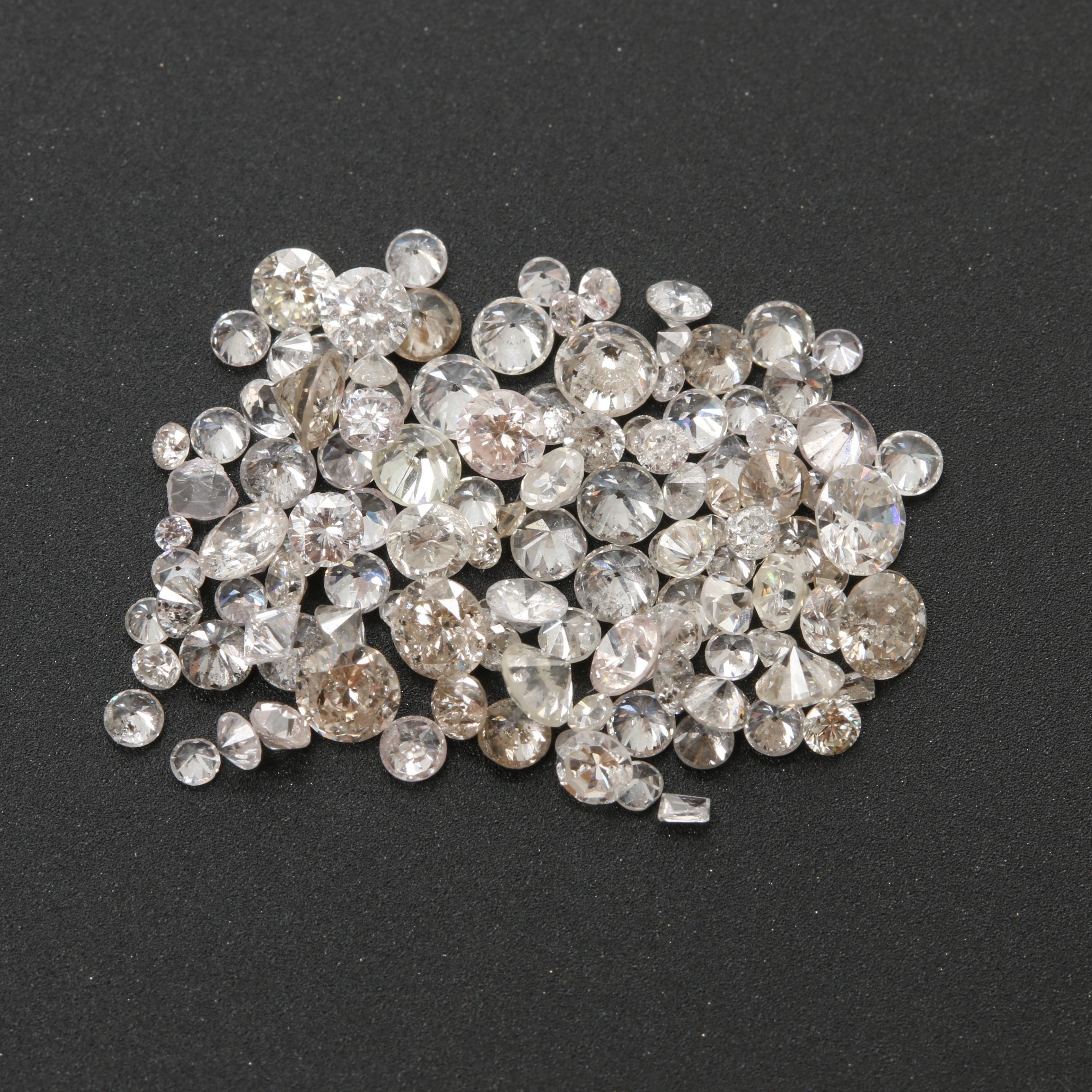 Loose 3.25 CTW Diamonds