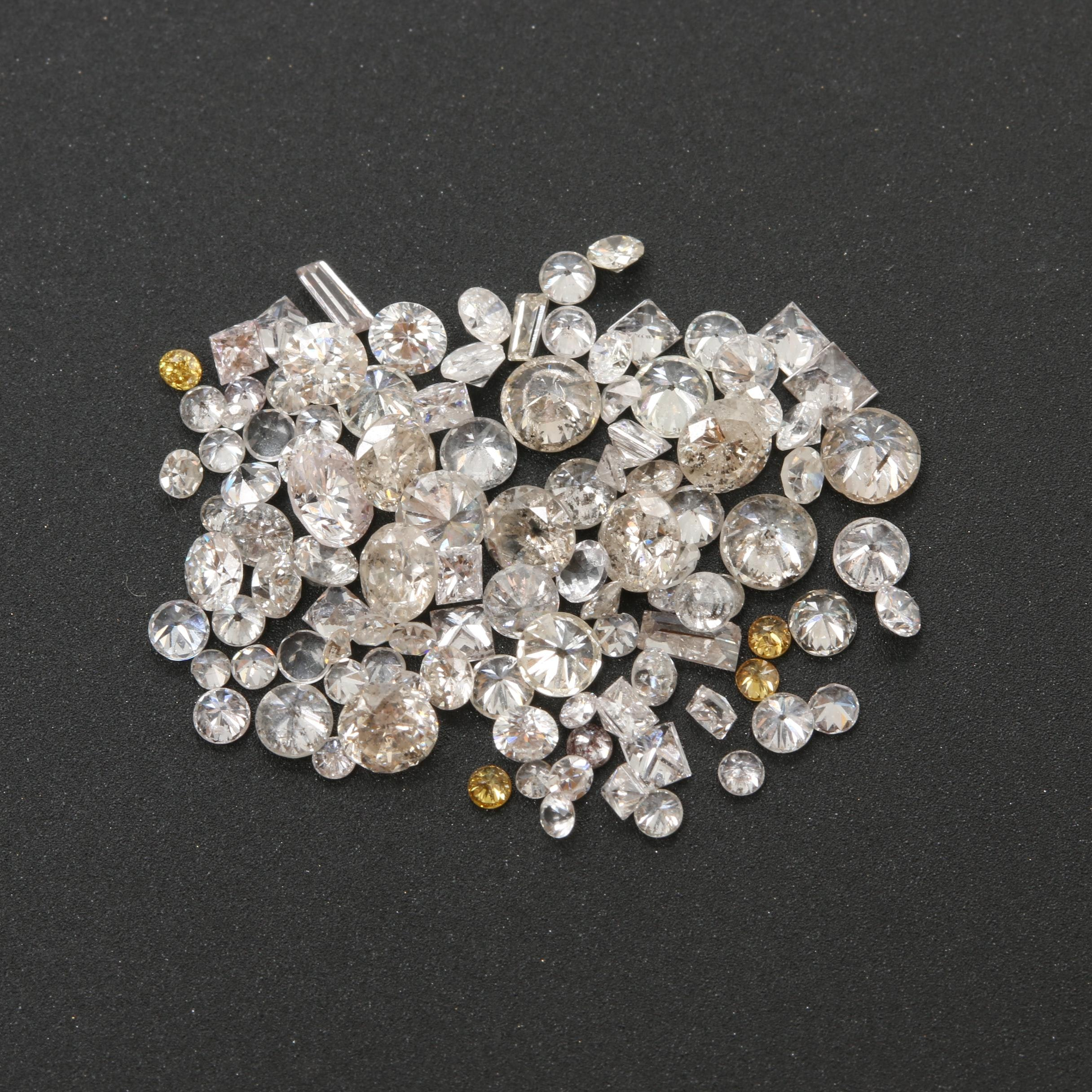 Loose 3.07 CTW Diamonds