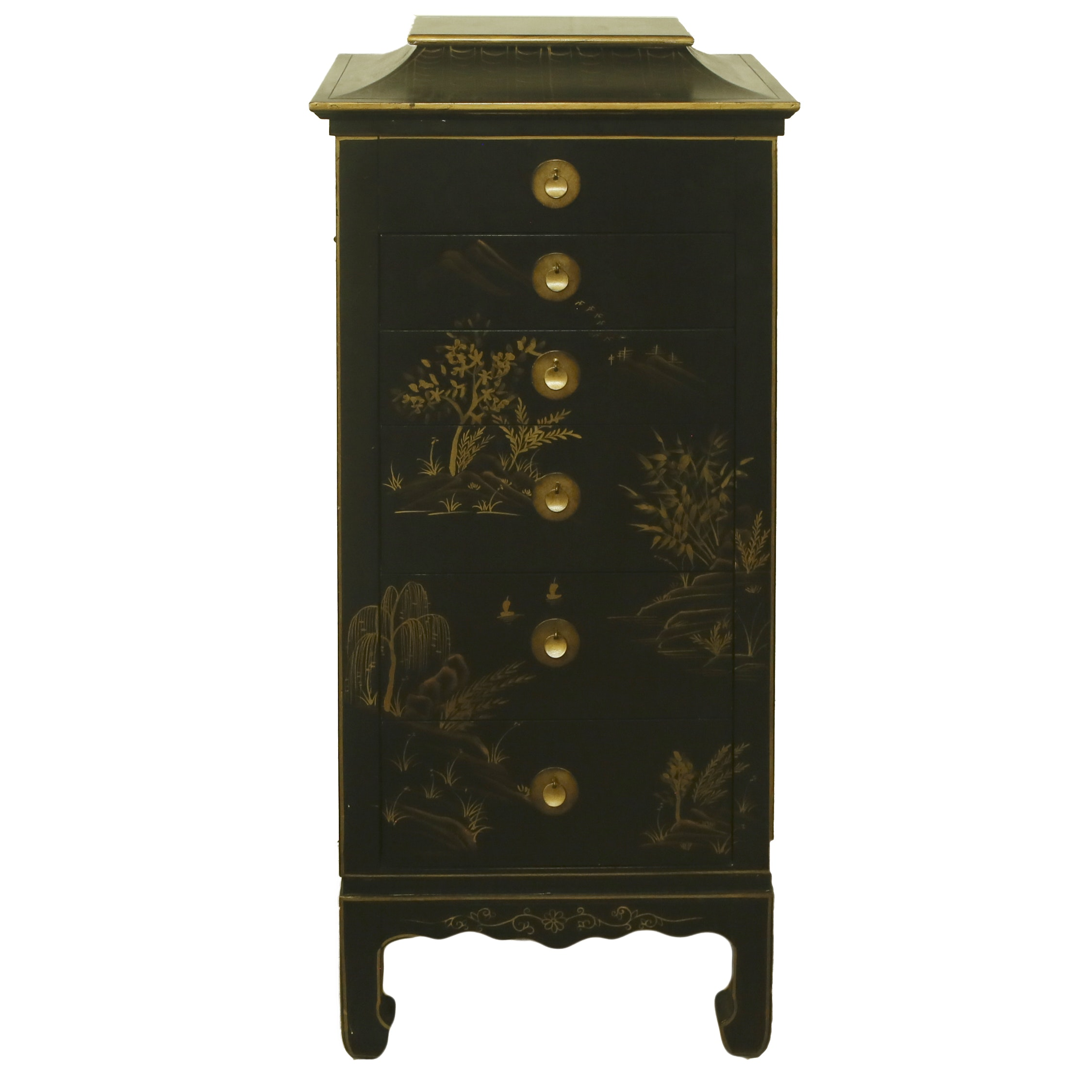 East Asian Style Jewelry Armoire