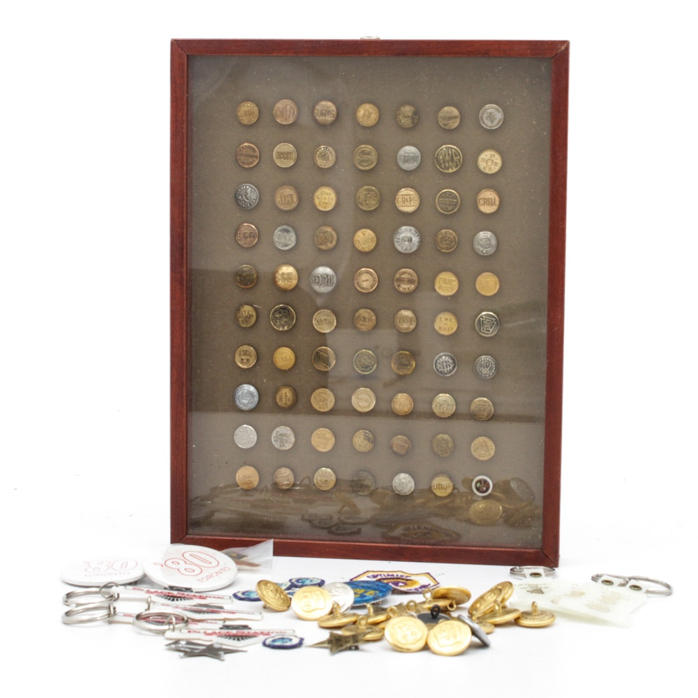 Brass Button Collection