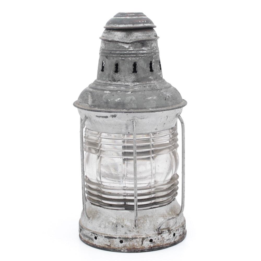 George B. Carpenter Steaboat Lamp