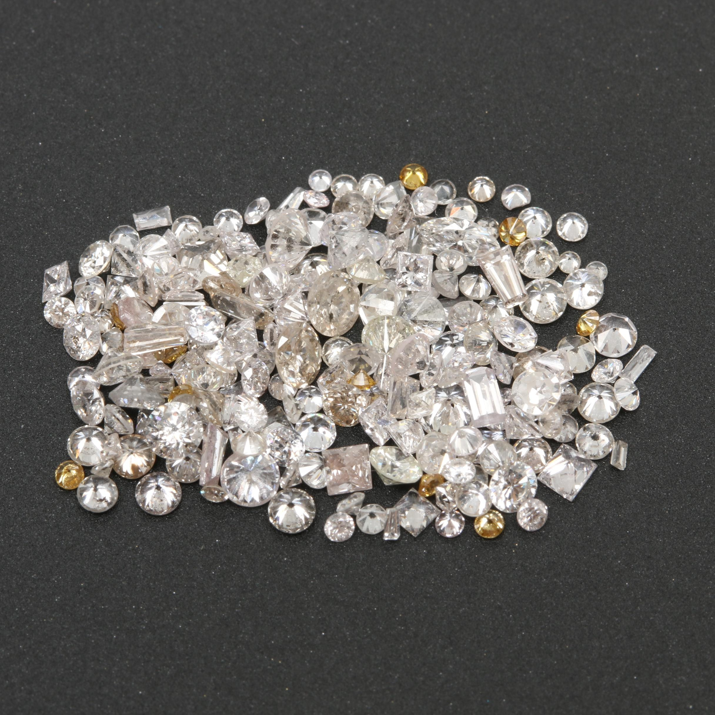 Loose 4.61 CTW Diamond Assortment