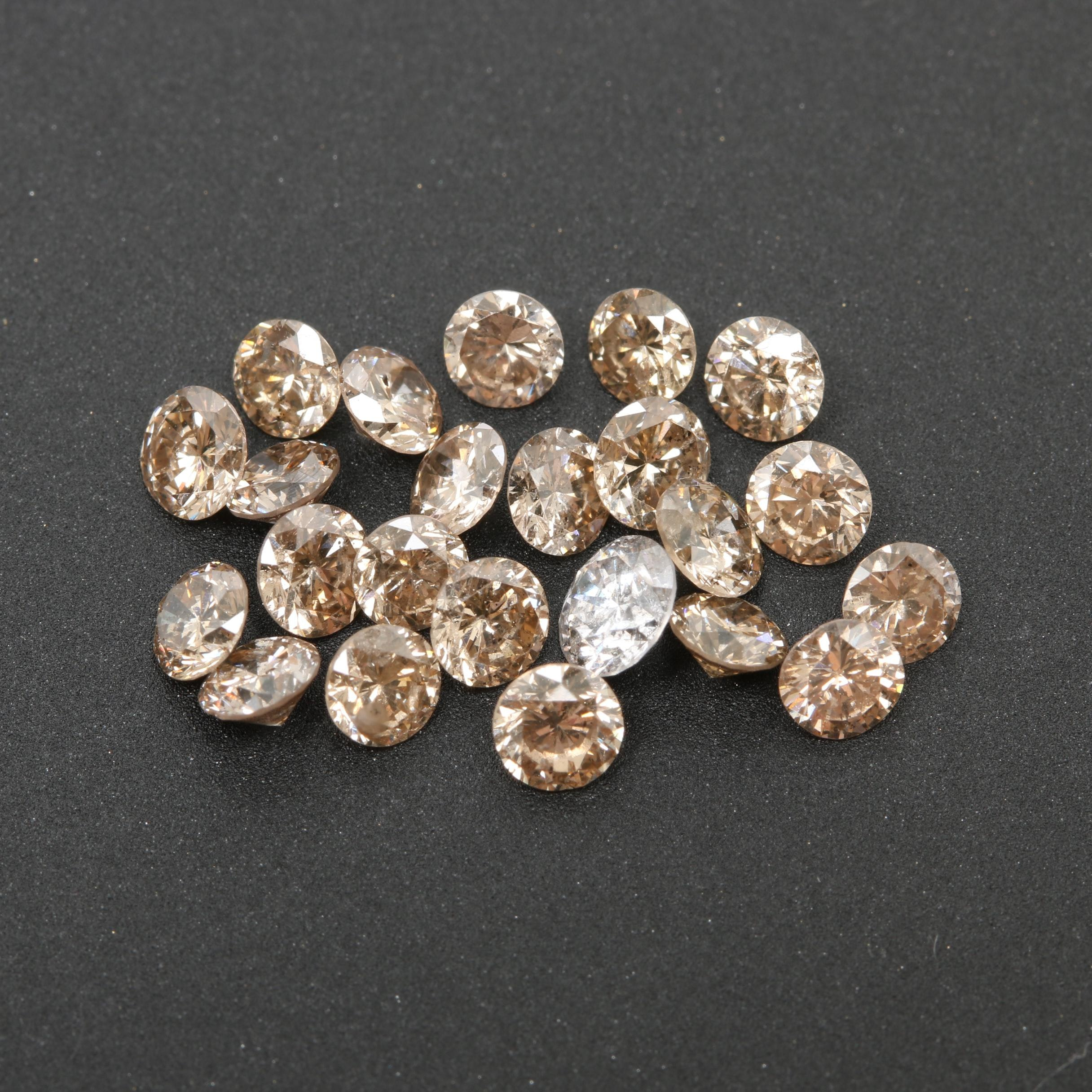 Loose 2.63 CTW Diamonds