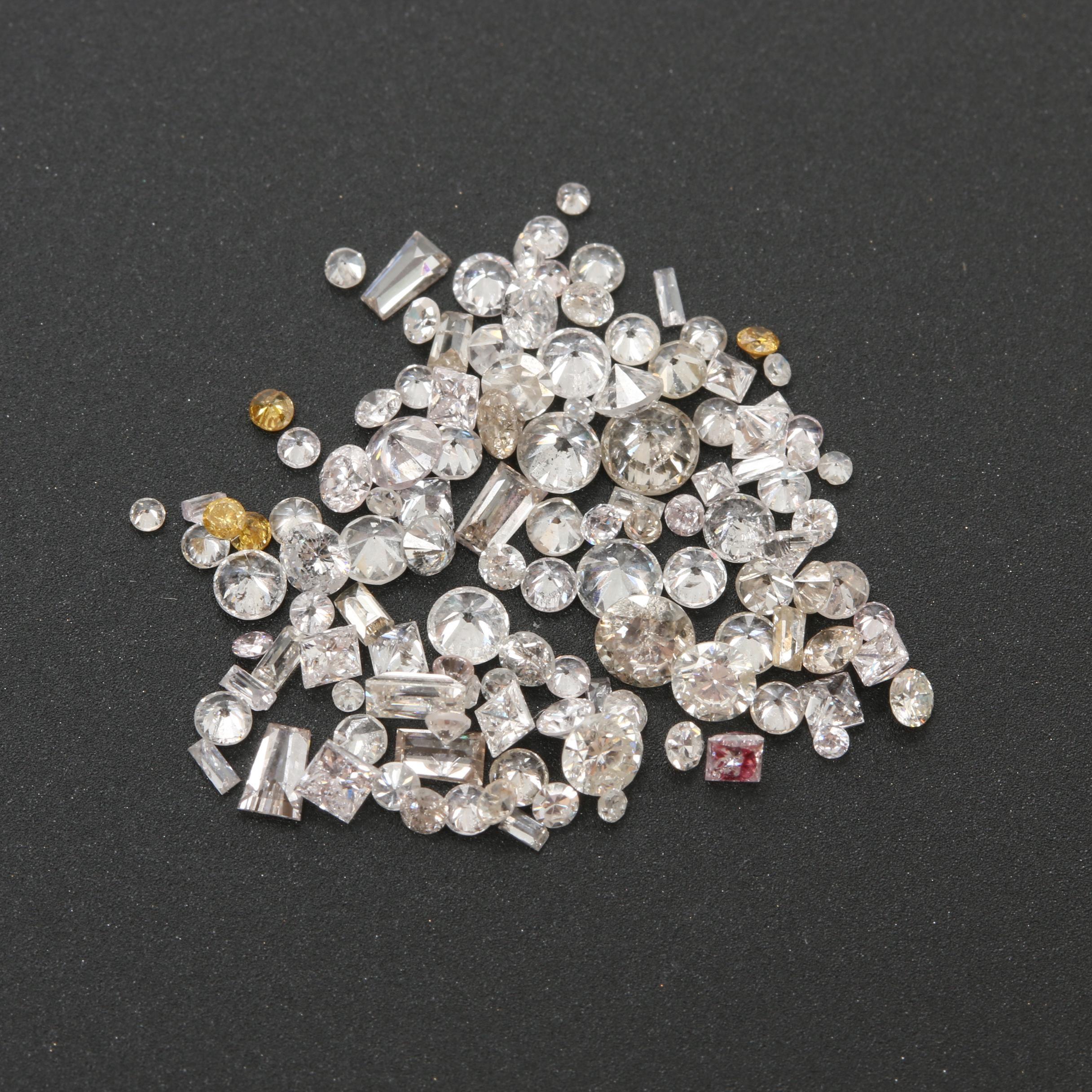 Loose 2.39 CTW Diamonds