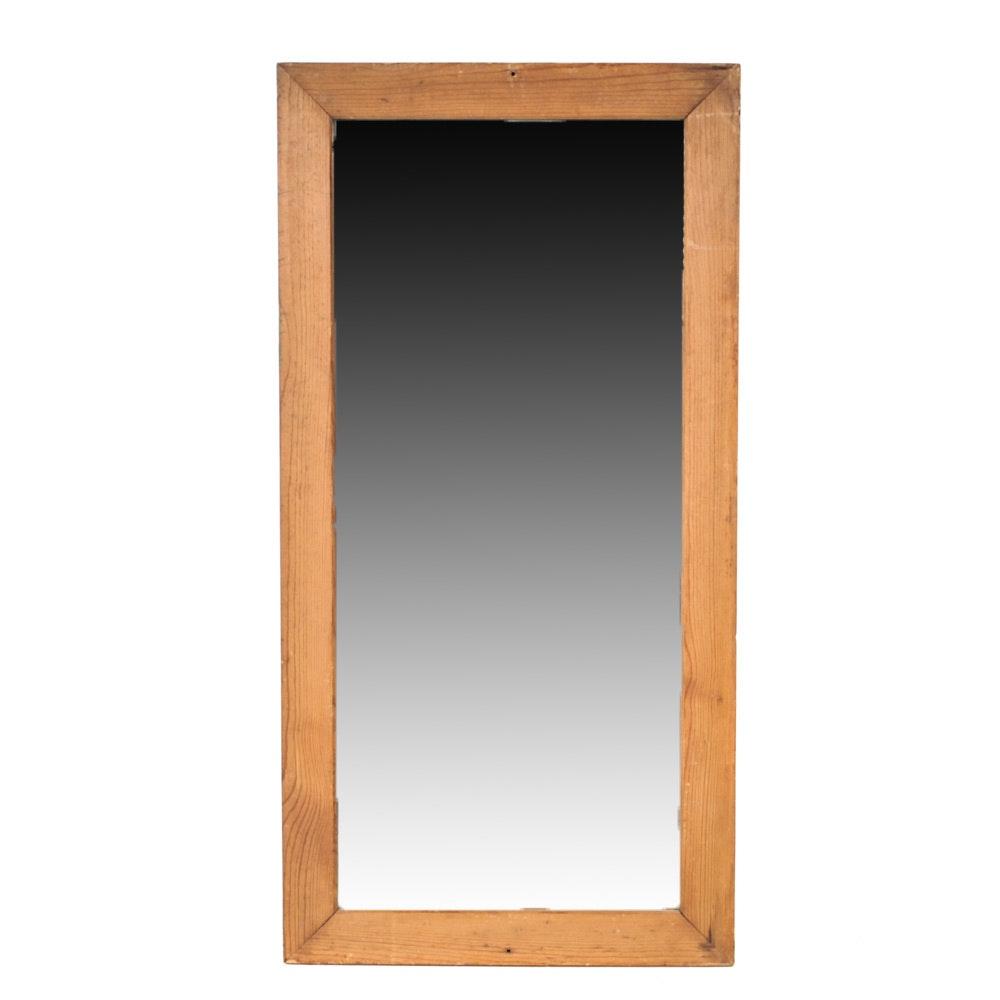 Vintage Rustic Framed Mirror