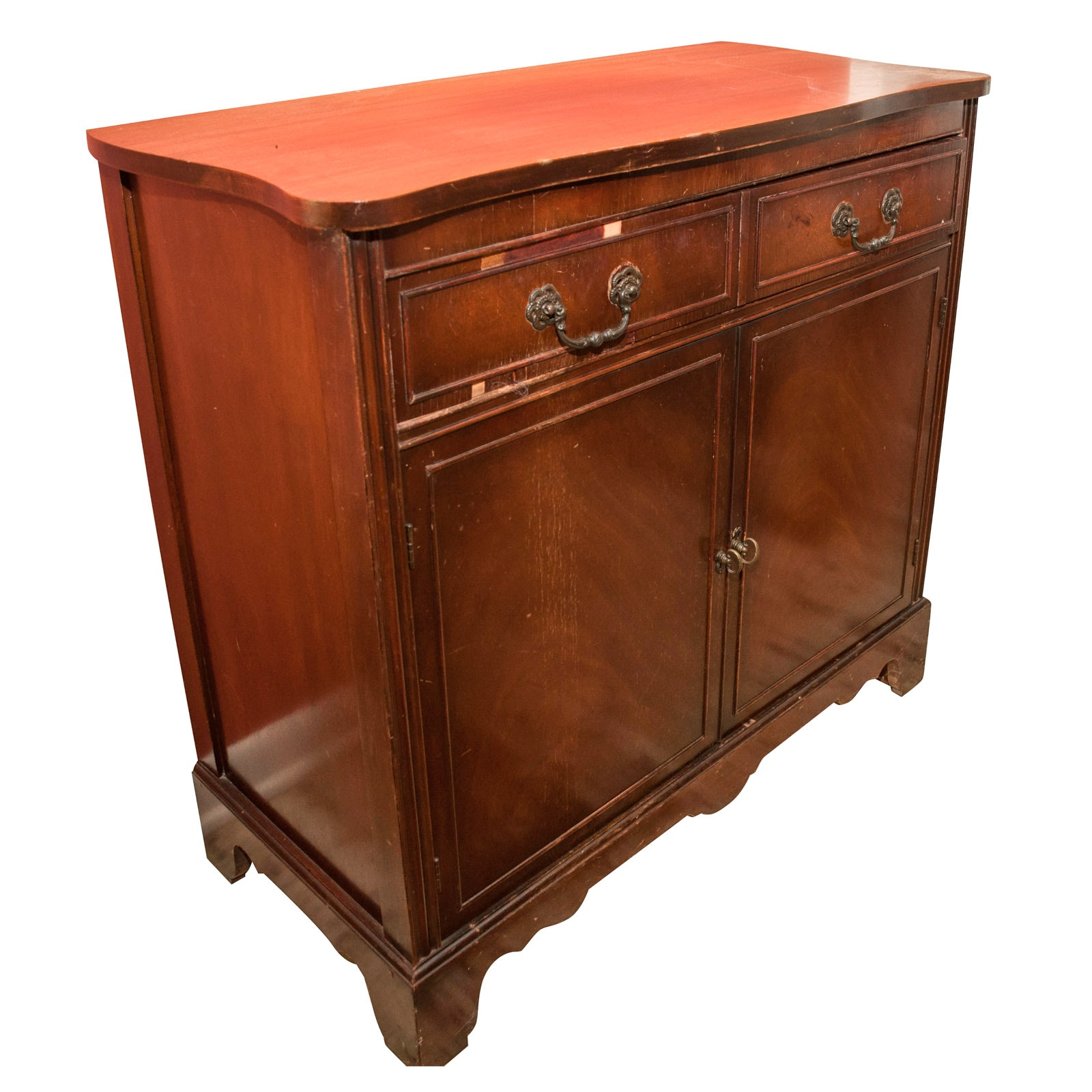 George III Style Cabinet, Mid-20th Century