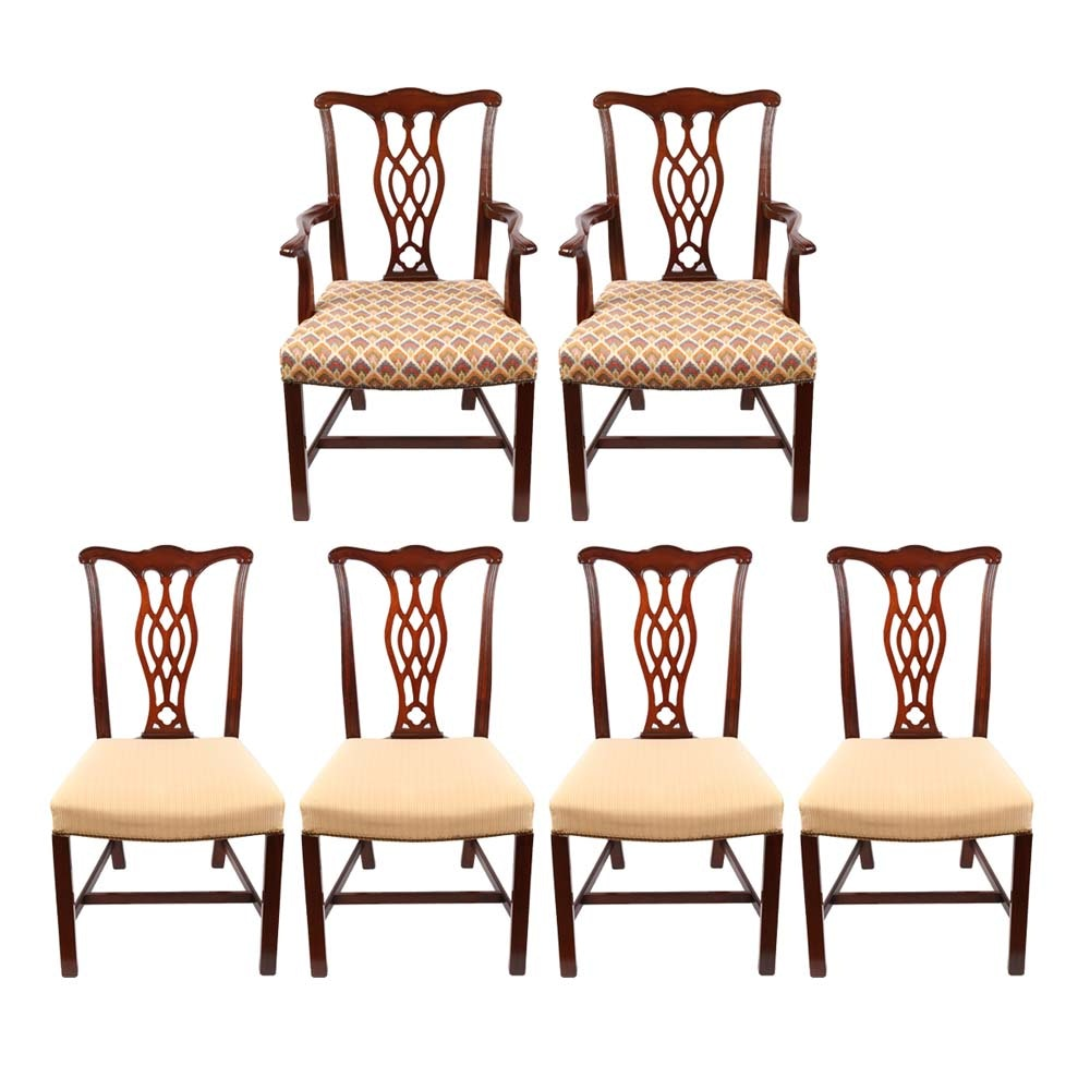 Henredon Chippendale Style Dining Chairs