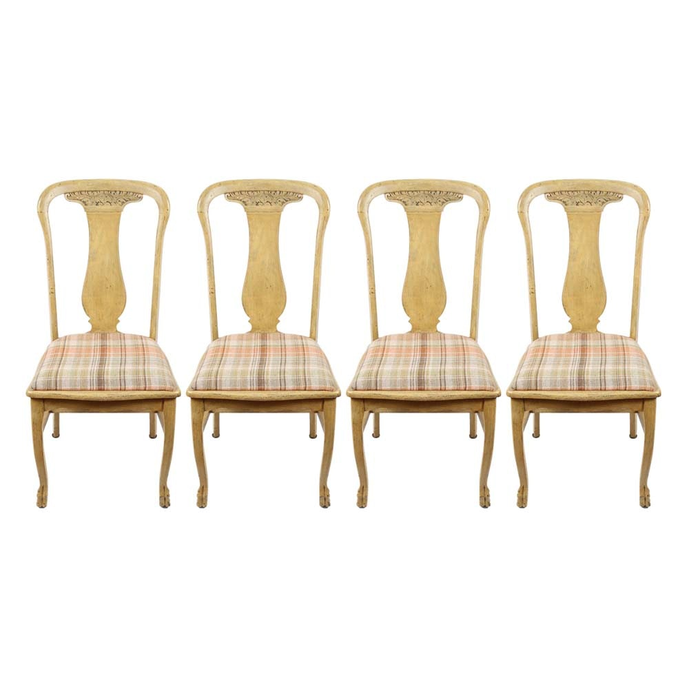 Vintage French Provincial Style Dining Chairs