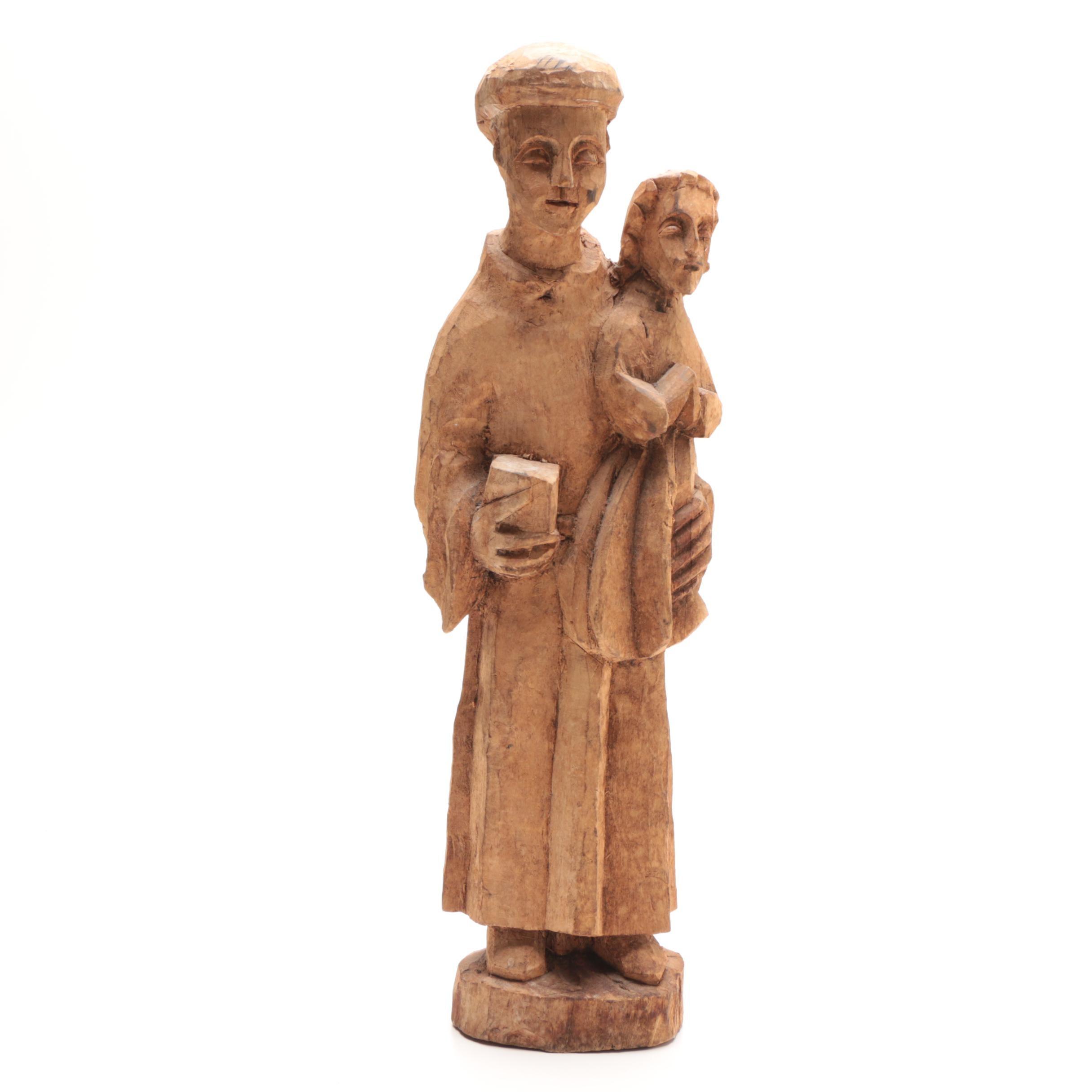 Santos Religious Wood Carving