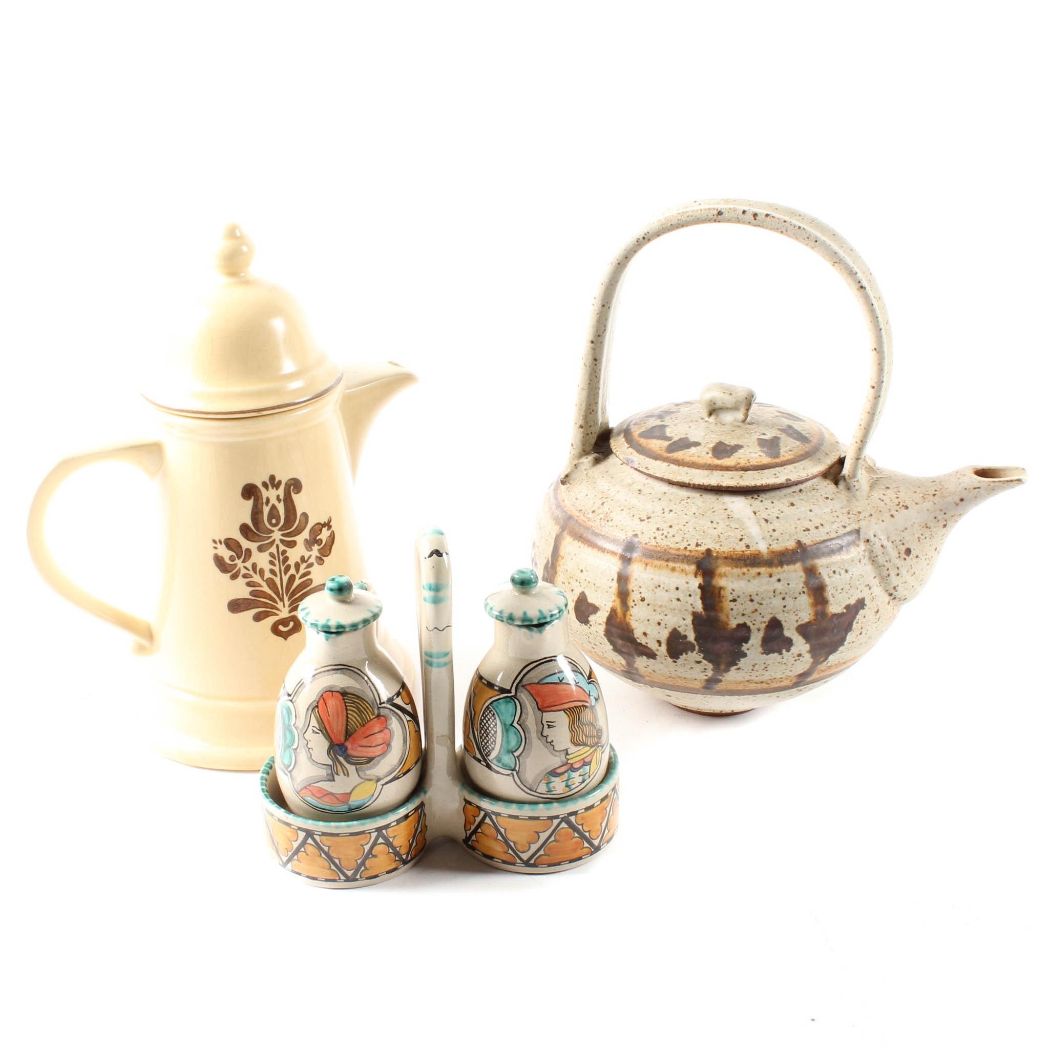 Ceramic Tea Party Accessories