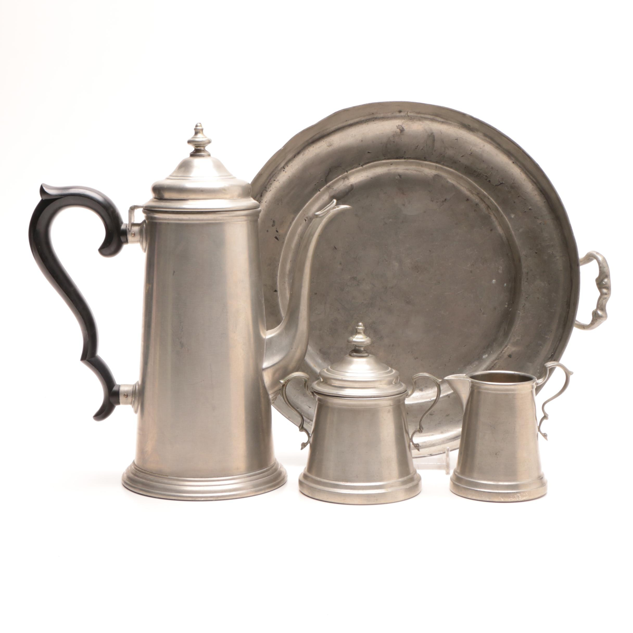 Assorted Pewter