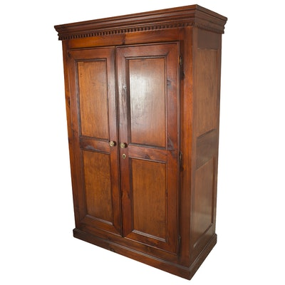 Wooden Media Cabinet by British Traditions - Online Furniture Auctions Vintage Furniture Auction Antique