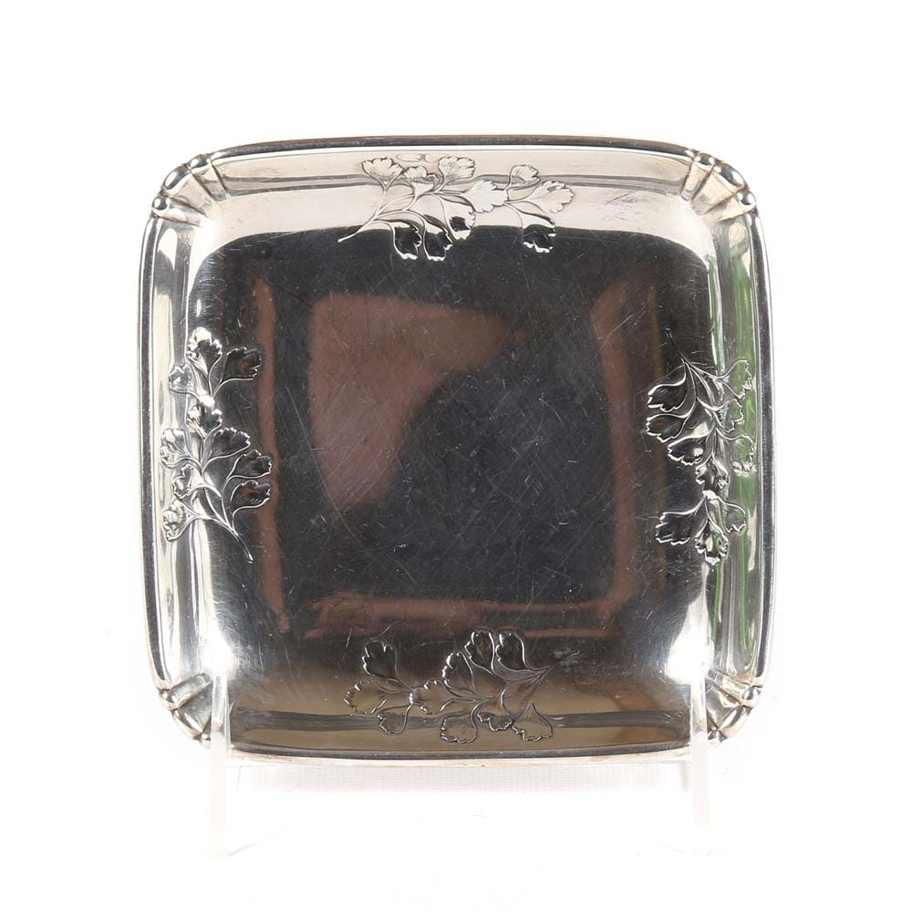 Sterling Silver Square Candy Dish by Wallace