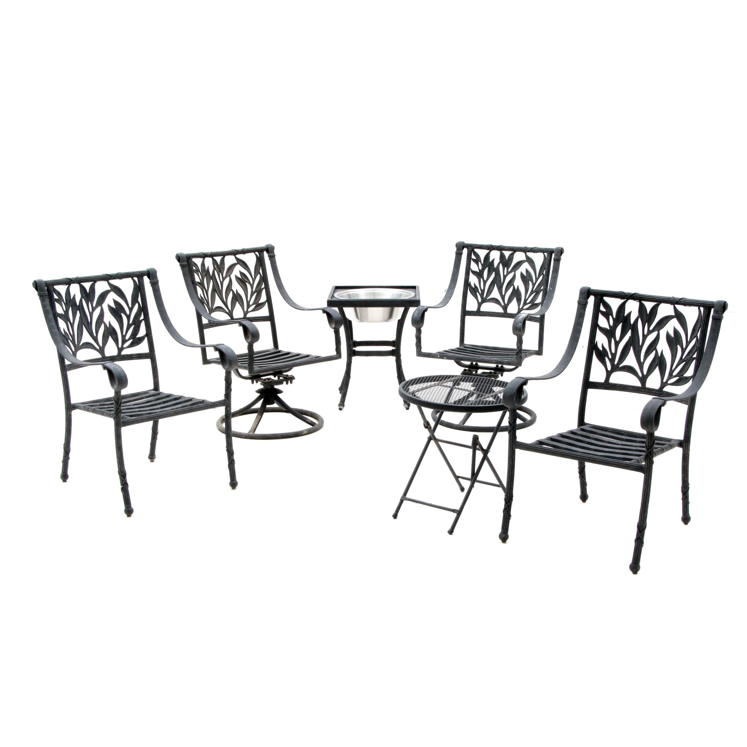 Contemporary Metal Patio Furniture