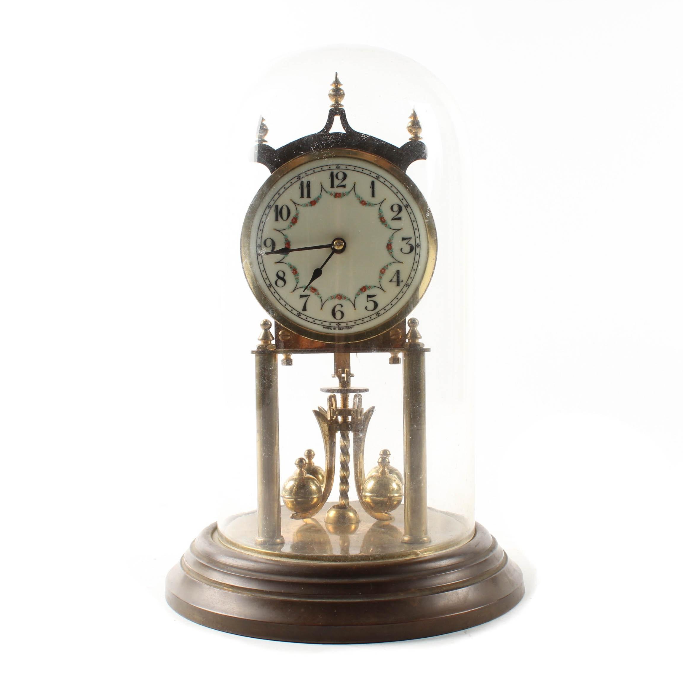 Kieninger & Obergfell German Anniversary Clock