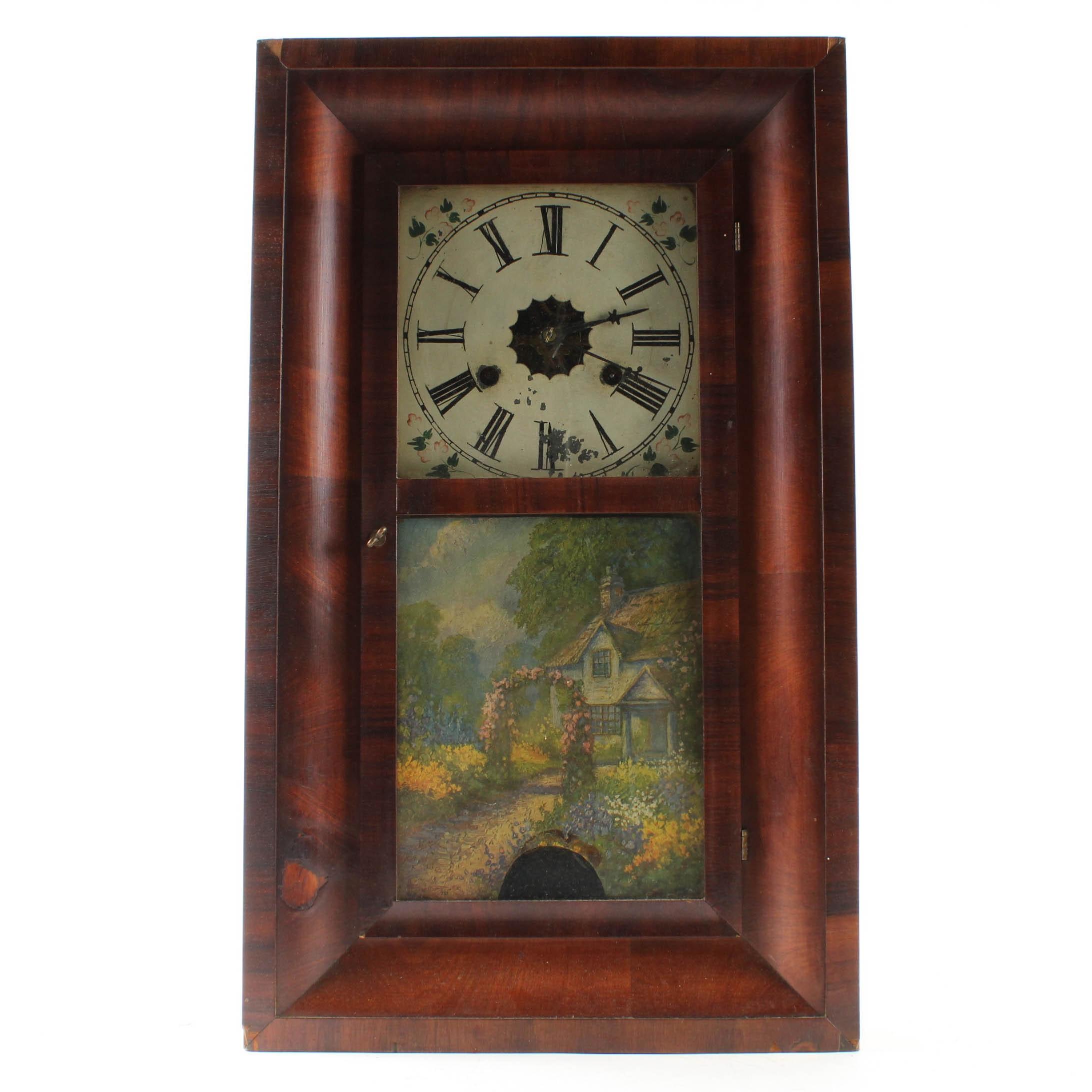 Antique Forestville Mantel Clock