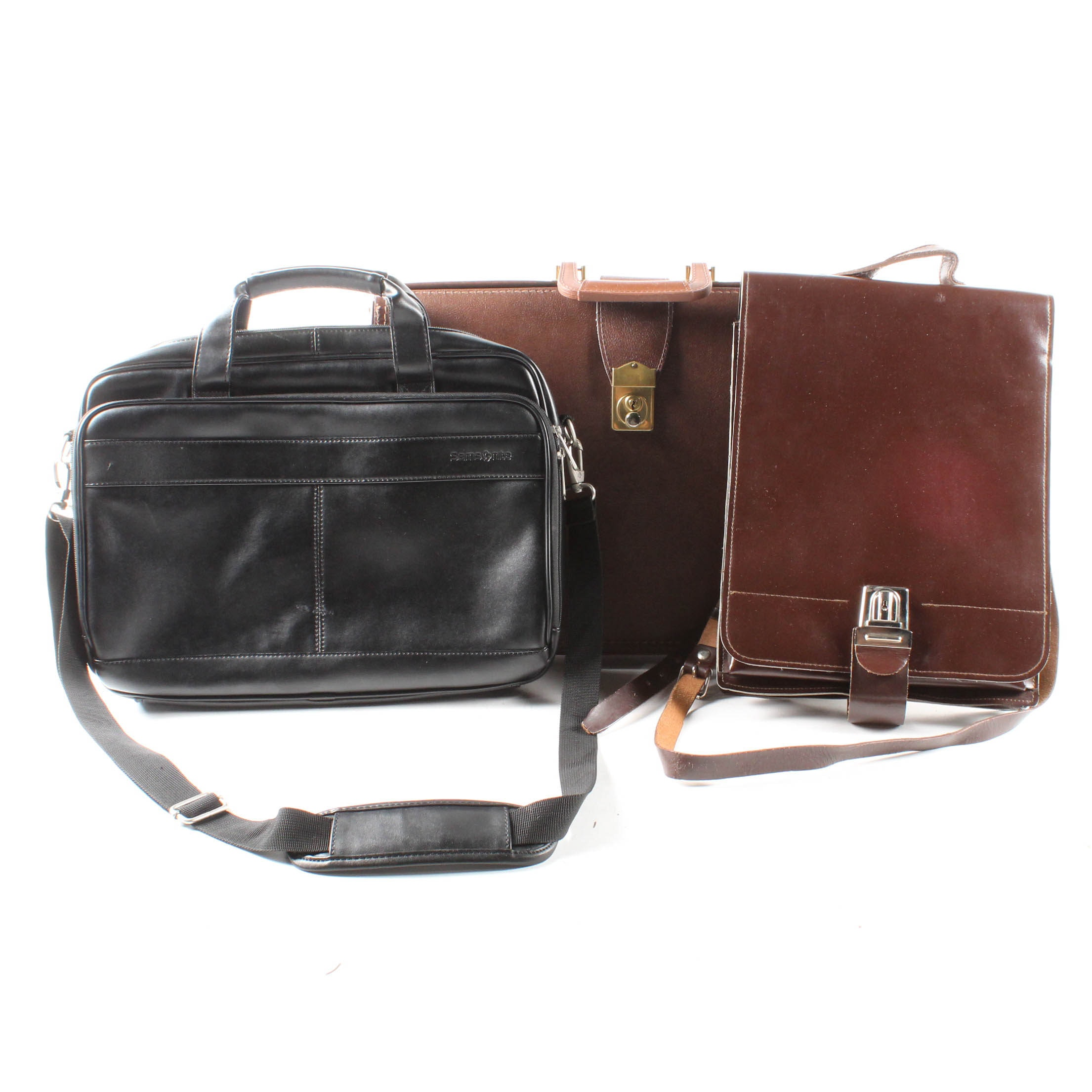 Leather Briefcase and Satchel Bags
